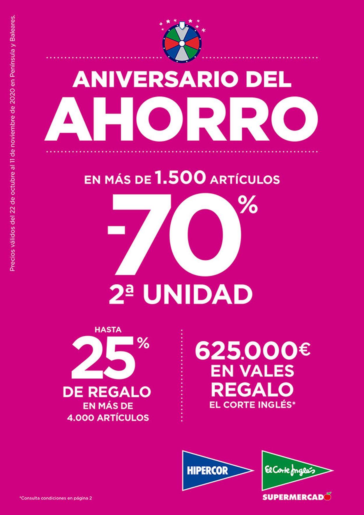 Hipercor Folleto - 22.10-11.11.2020