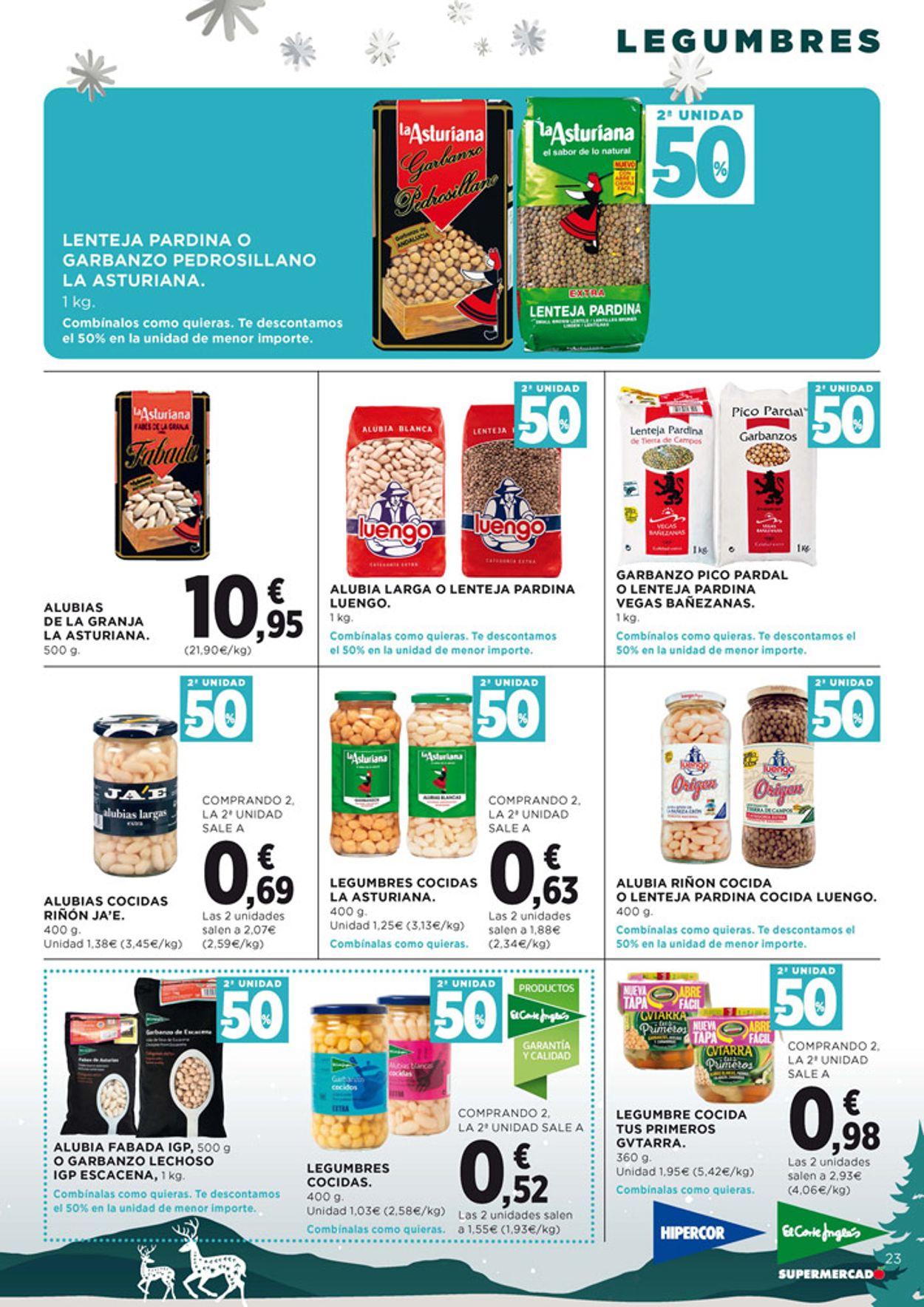 Hipercor - Navidad Folleto - 12.11-25.11.2020 (Página 23)