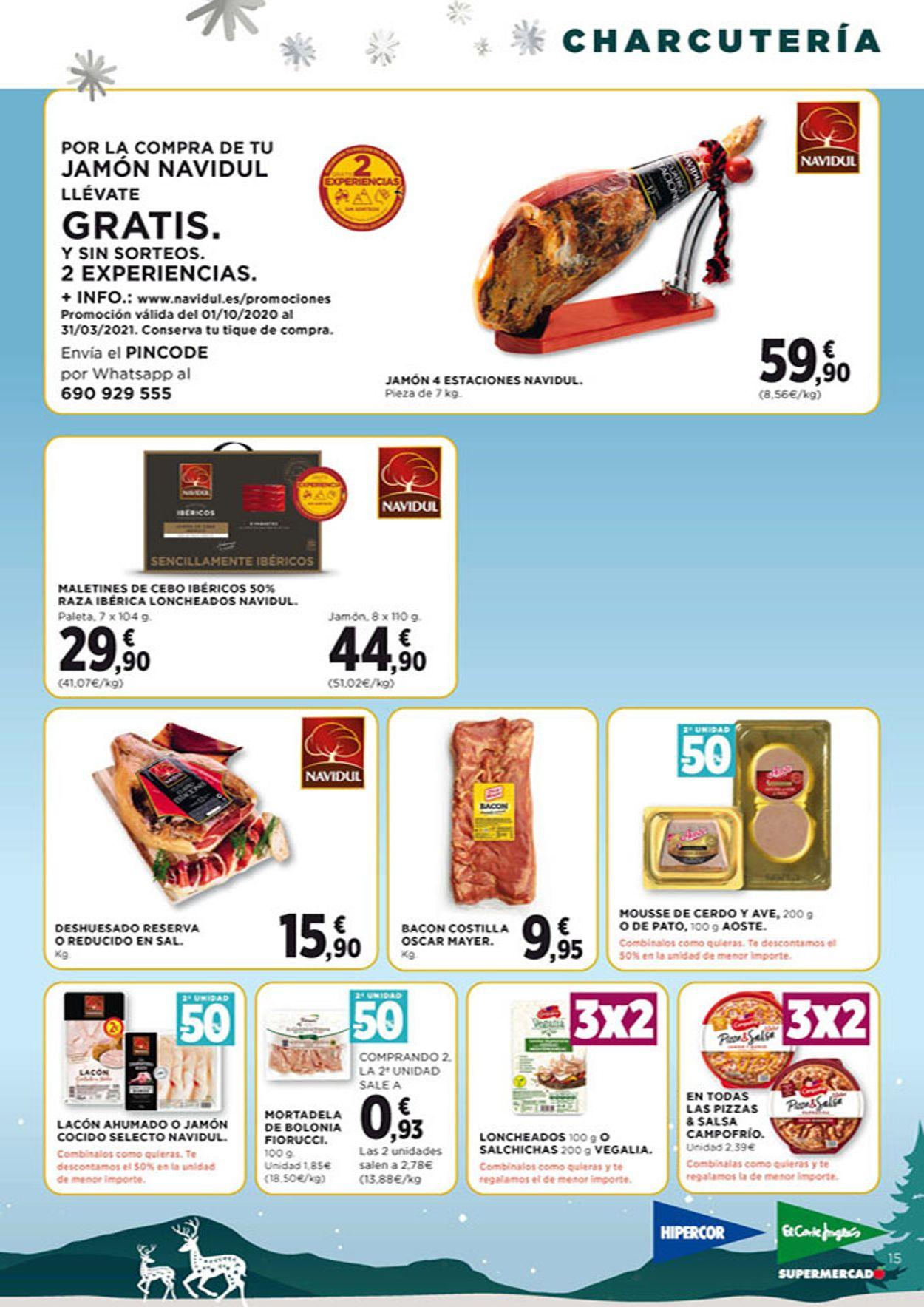 Hipercor Navidad 2020 Folleto - 26.11-09.12.2020 (Página 15)