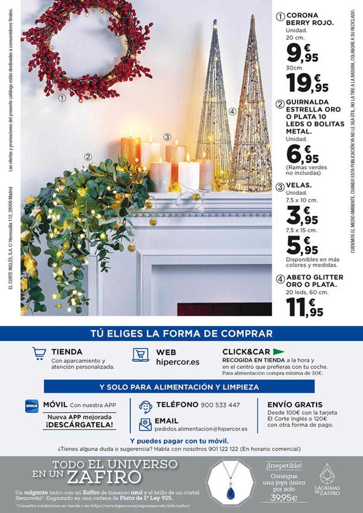 Hipercor Navidad 2020 Folleto - 26.11-09.12.2020 (Página 70)