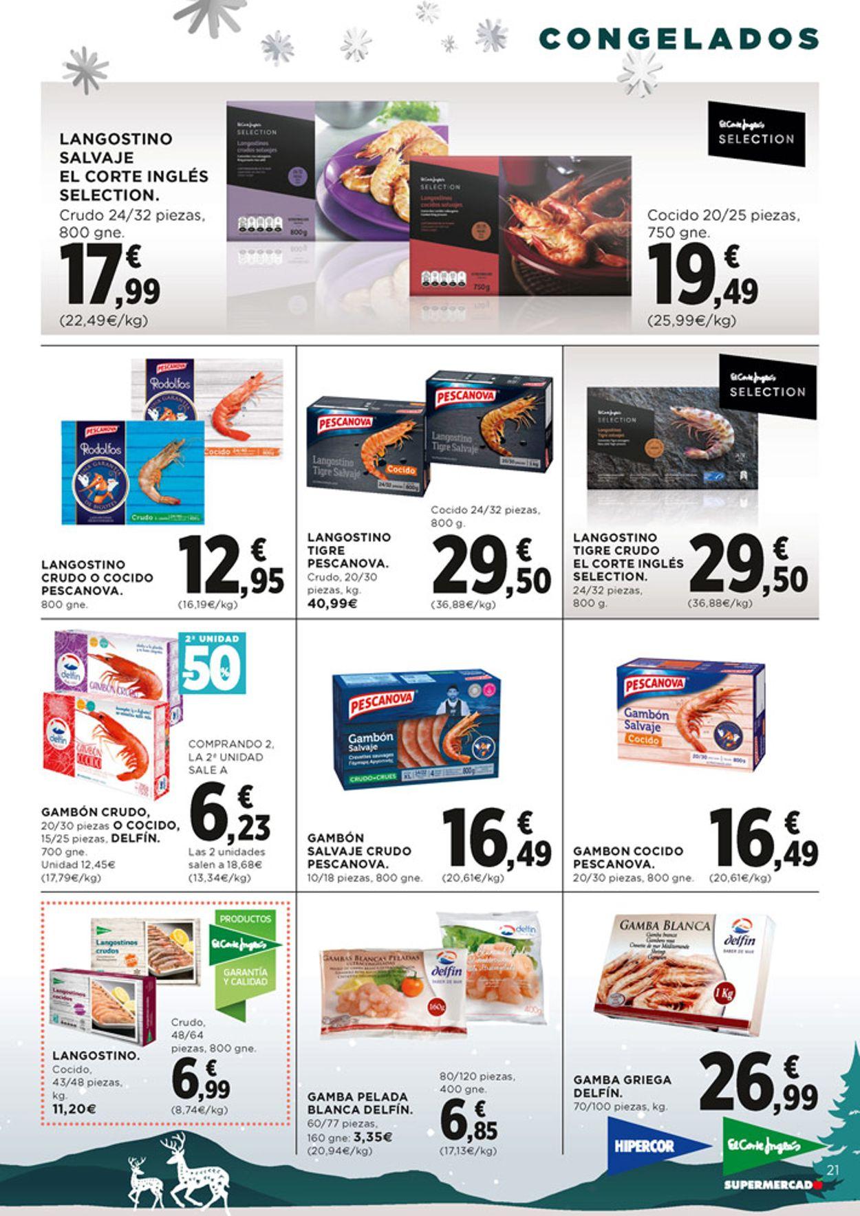 Hipercor Nos Gusta la Navidad 2020 Folleto - 10.12-01.01.2021 (Página 21)