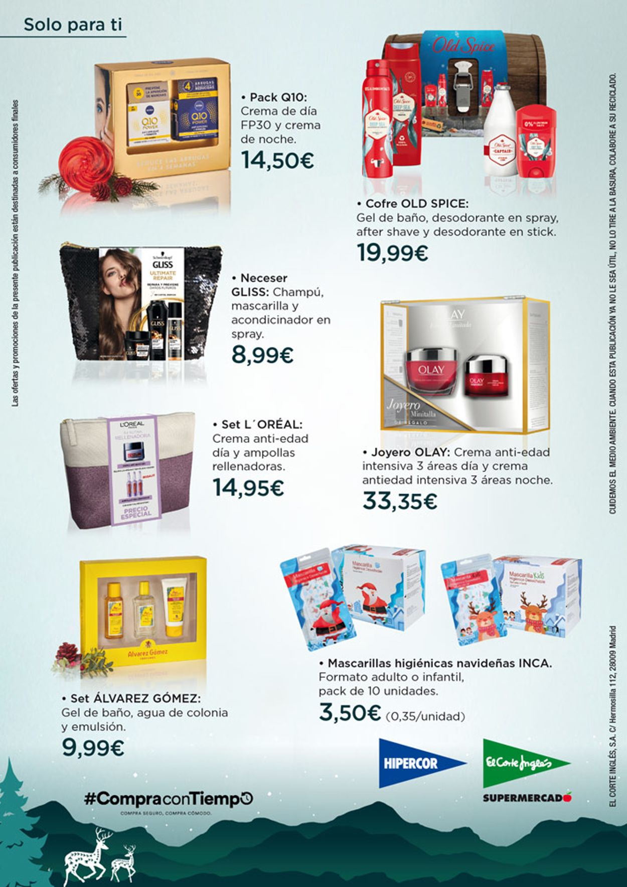 Hipercor Perfumeria para Navidad 2020 Folleto - 10.12-05.01.2021 (Página 8)