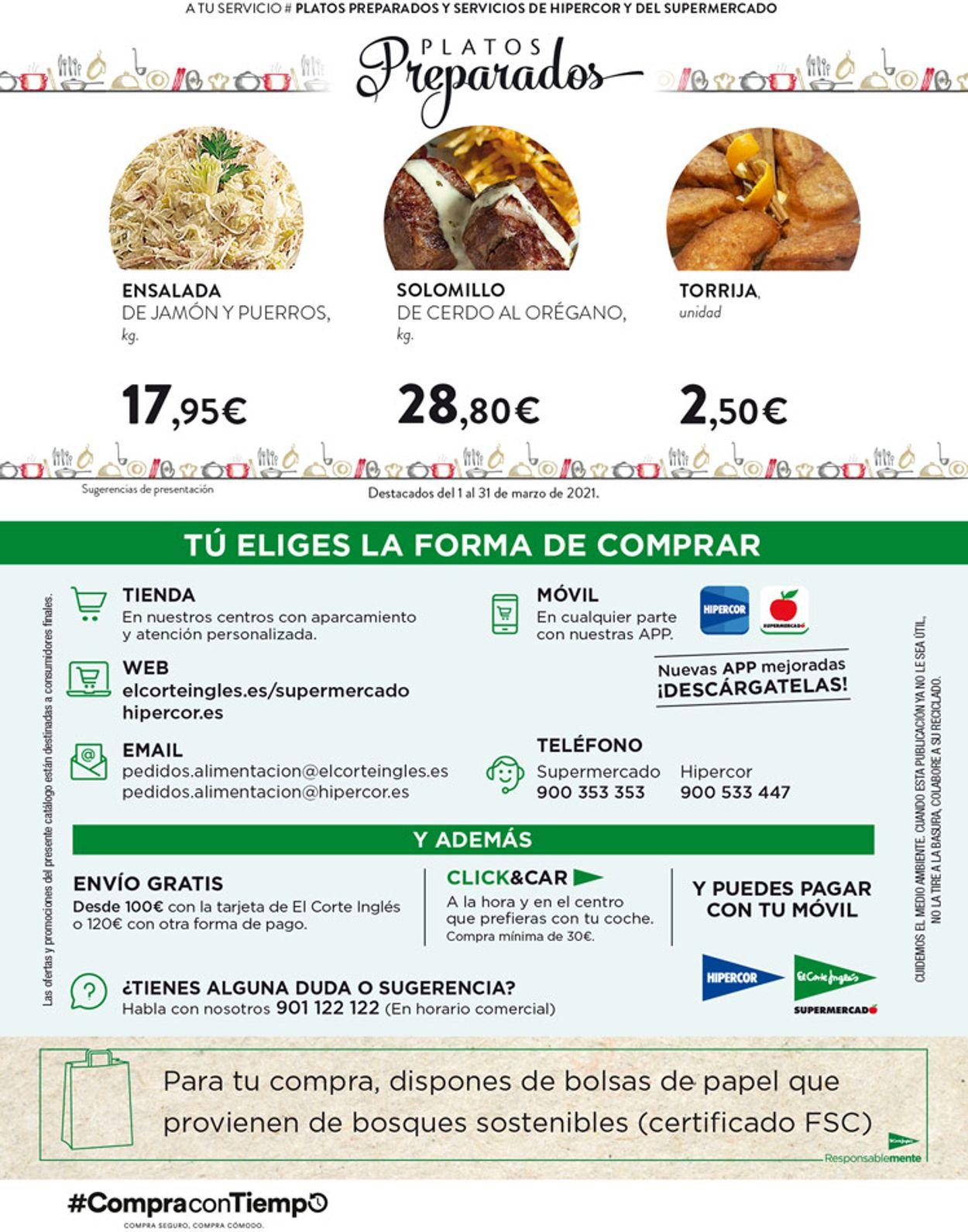 Hipercor Folleto - 11.03-24.03.2021 (Página 82)