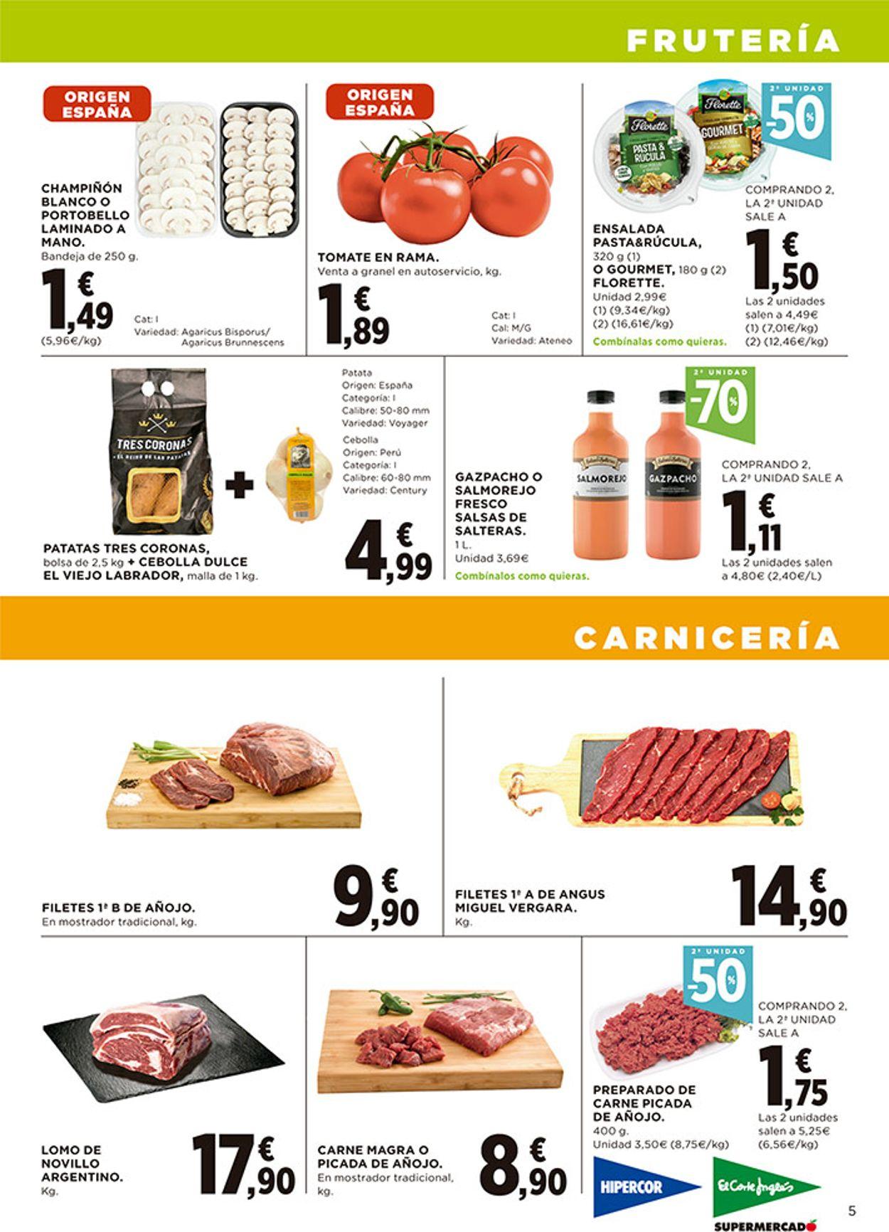 Hipercor Folleto - 25.03-07.04.2021 (Página 5)