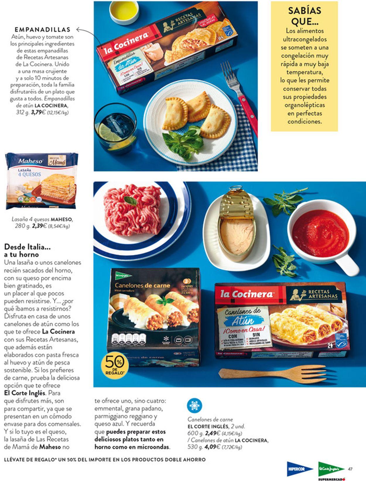 Hipercor Folleto - 08.04-21.04.2021 (Página 47)