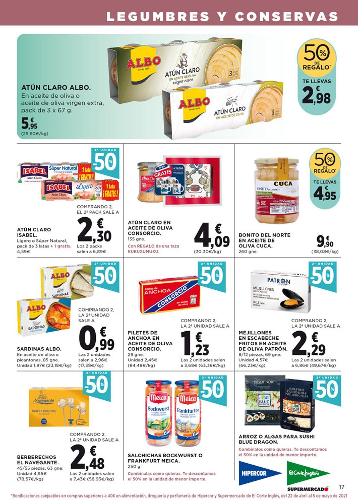 Hipercor Folleto - 08.04-21.04.2021 (Página 19)