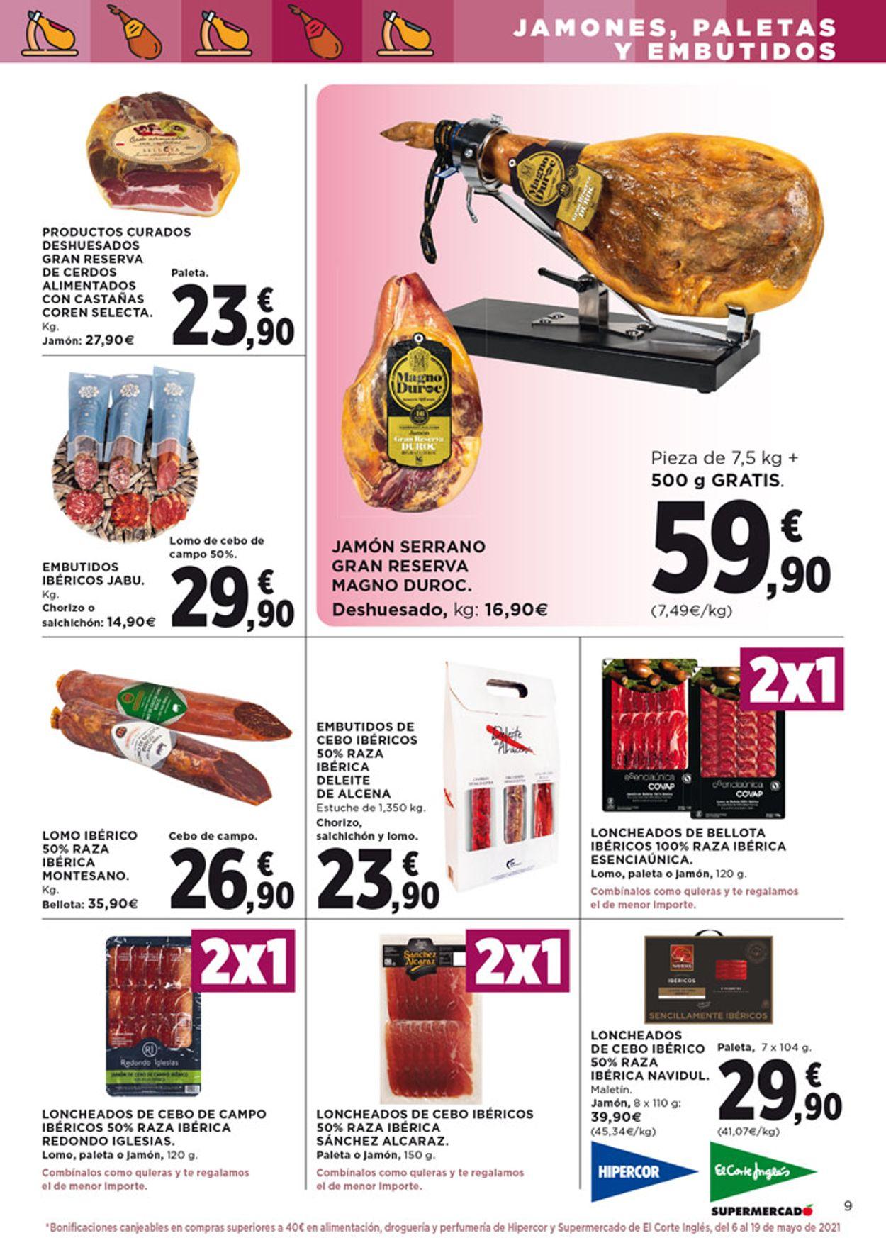 Hipercor Folleto - 22.04-05.05.2021 (Página 9)