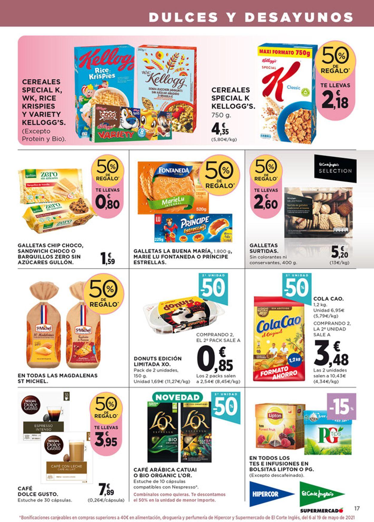 Hipercor Folleto - 22.04-05.05.2021 (Página 19)