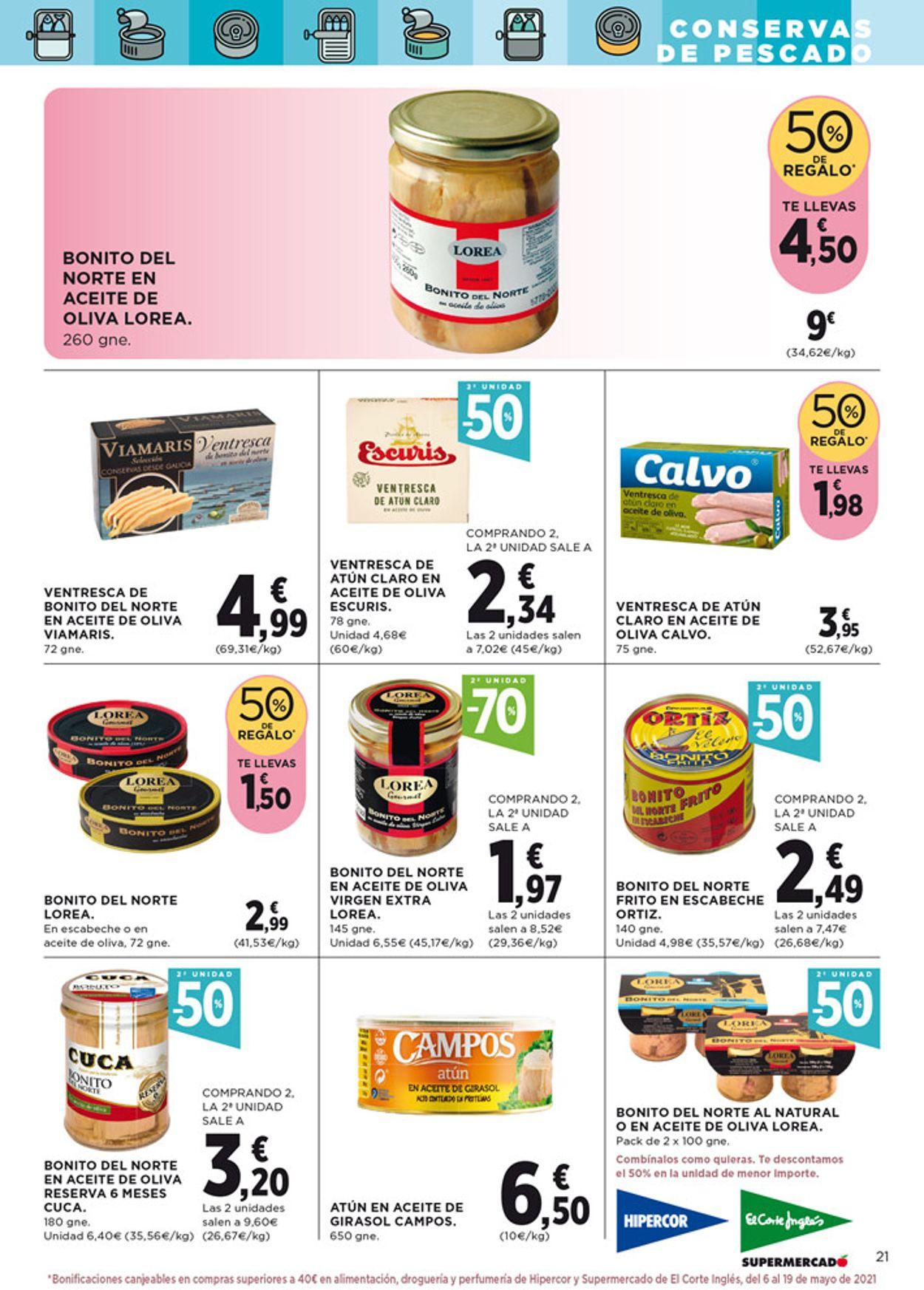 Hipercor Folleto - 22.04-05.05.2021 (Página 23)