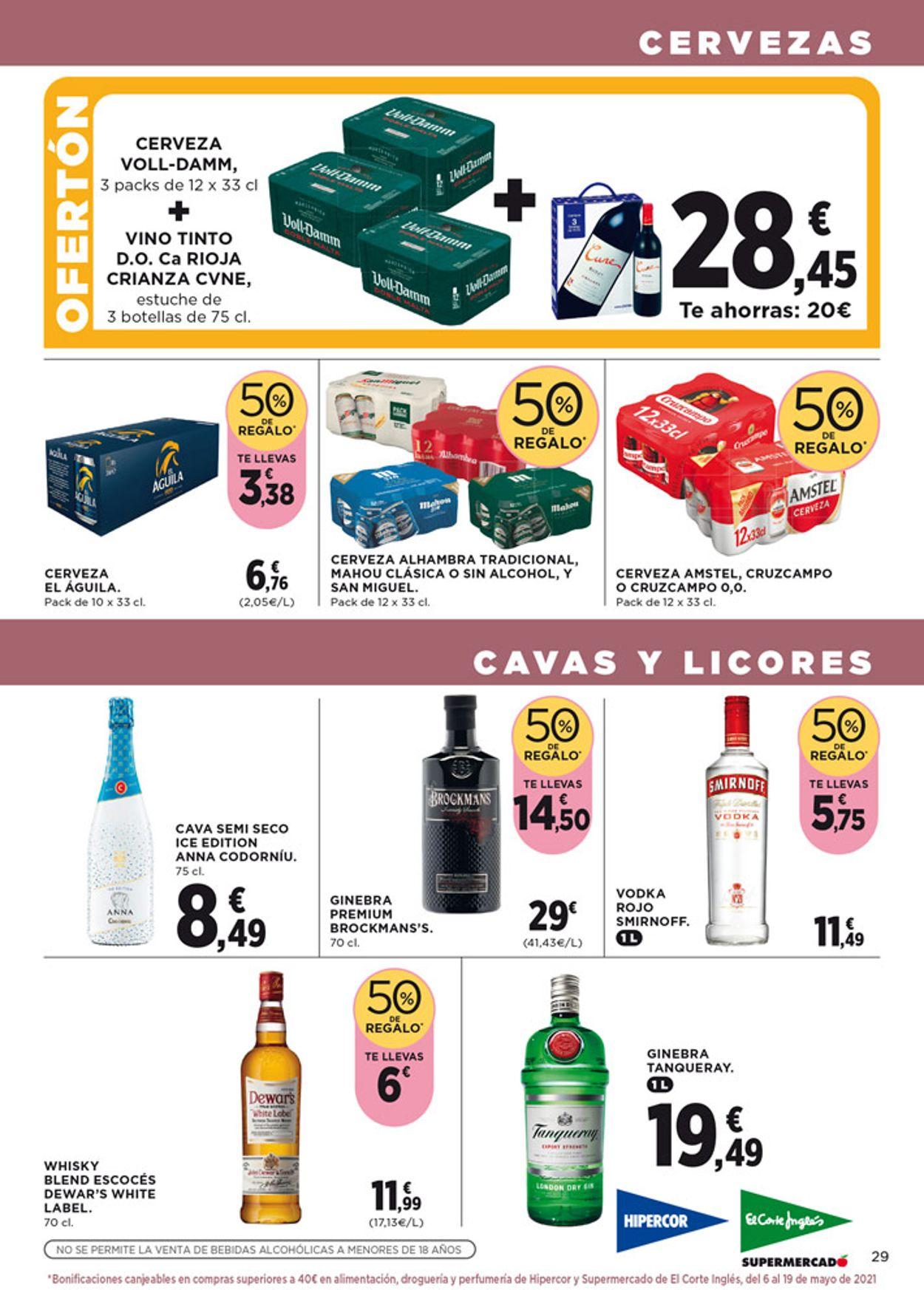 Hipercor Folleto - 22.04-05.05.2021 (Página 31)