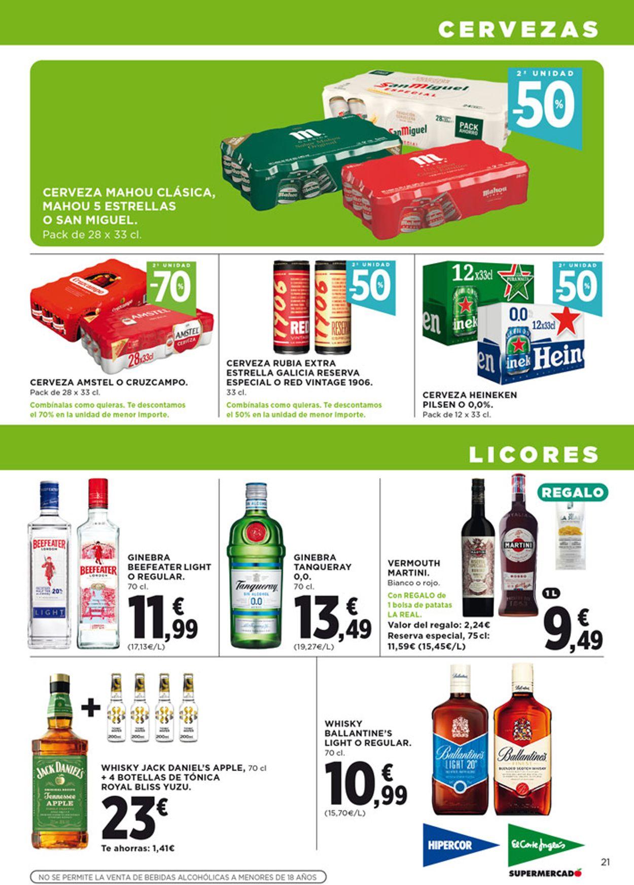 Hipercor Folleto - 06.05-19.05.2021 (Página 21)