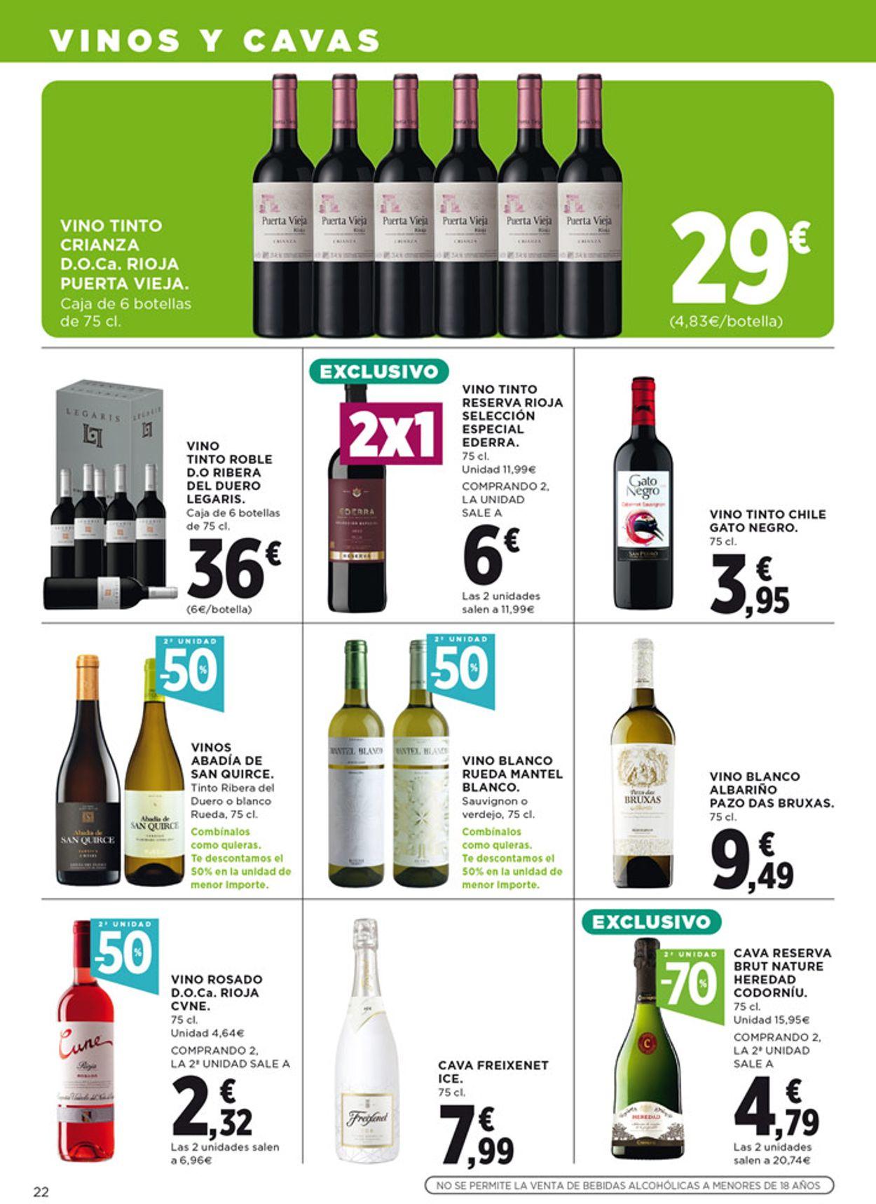 Hipercor Folleto - 06.05-19.05.2021 (Página 22)
