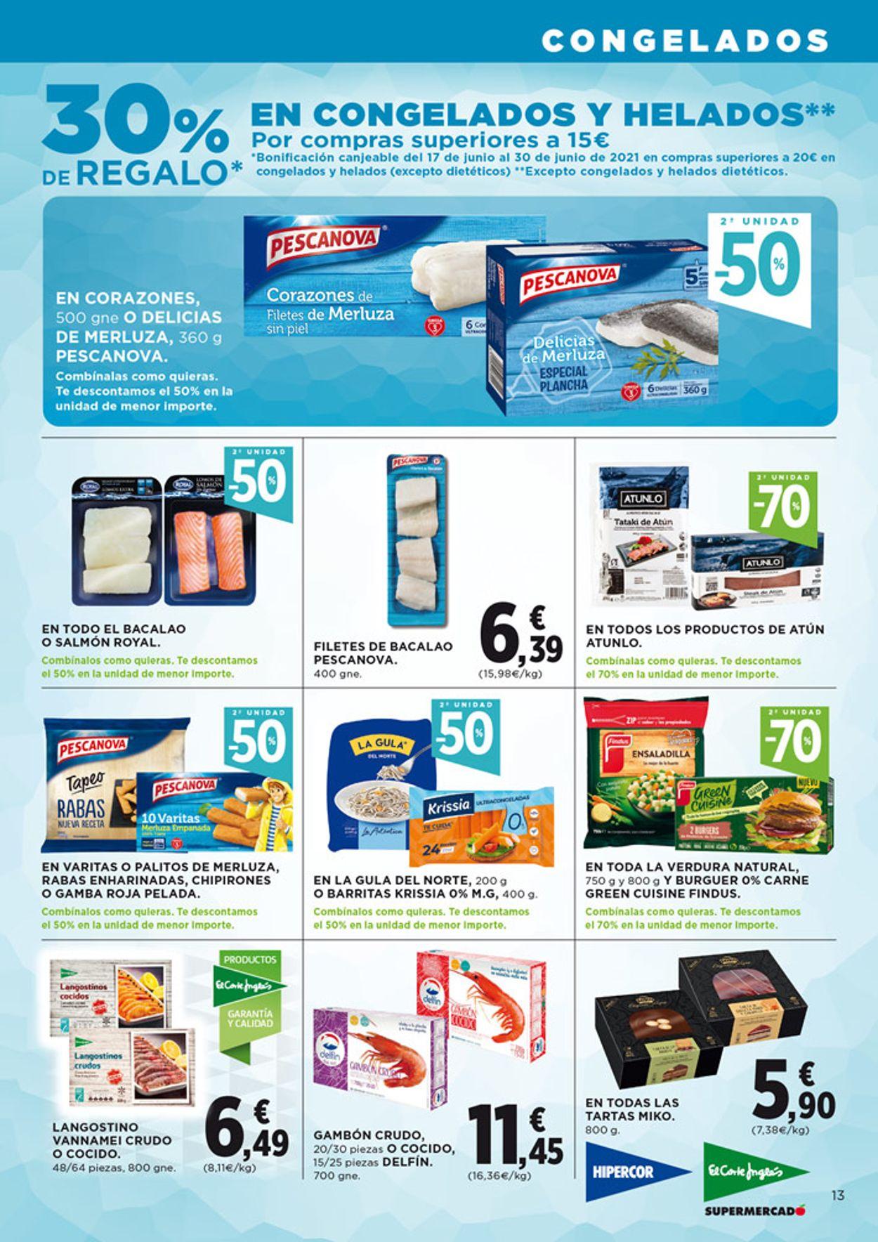Hipercor Folleto - 03.06-16.06.2021 (Página 13)