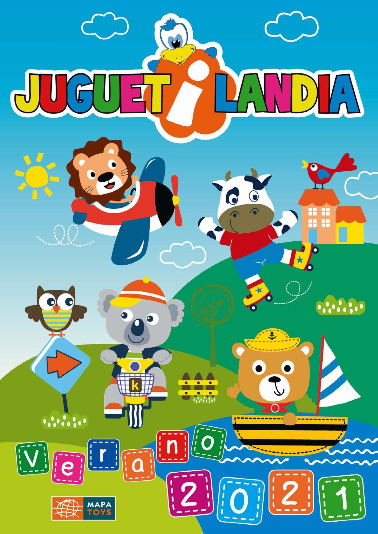 Juguetilandia Folleto - 09.07-31.08.2021