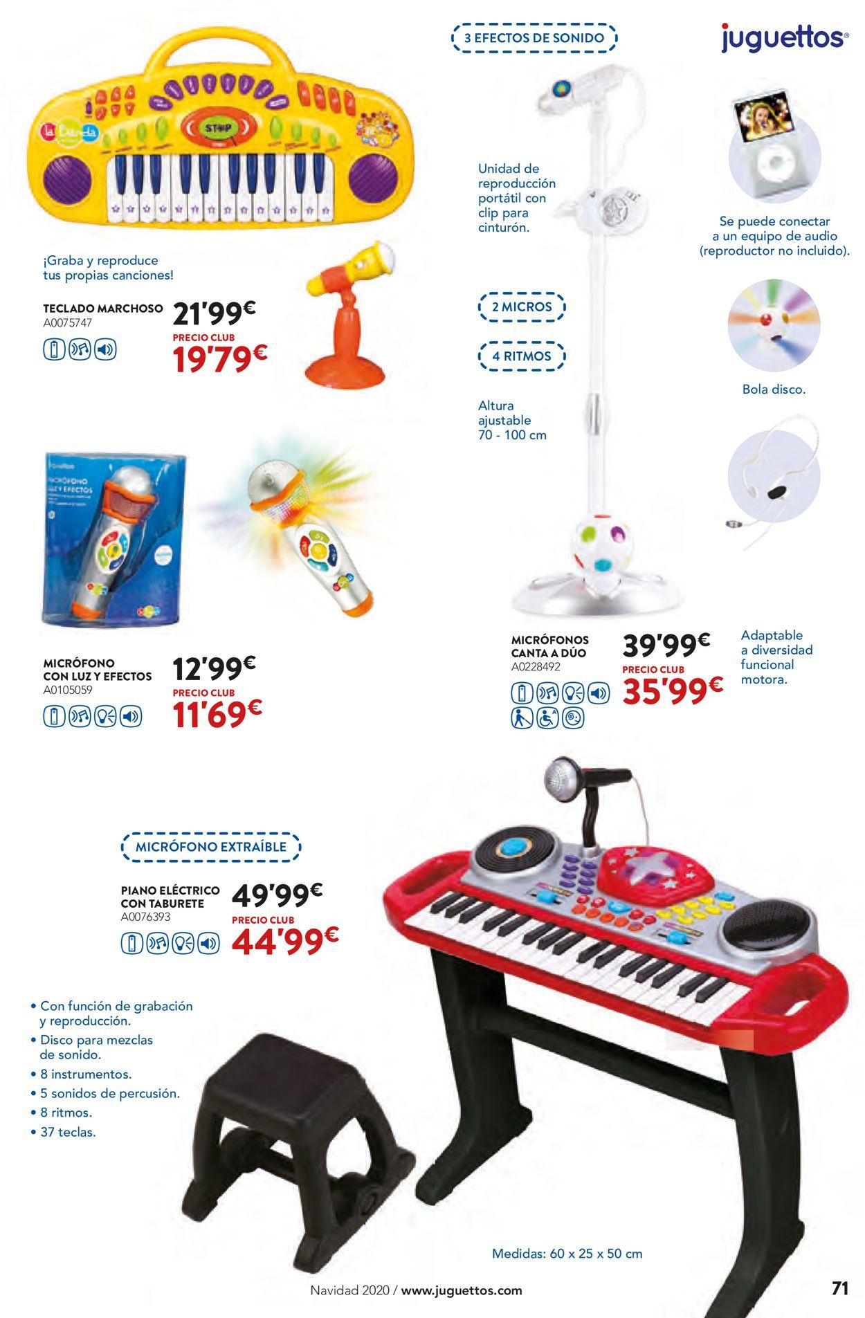 Juguettos Folleto - 02.11-24.12.2020 (Página 71)