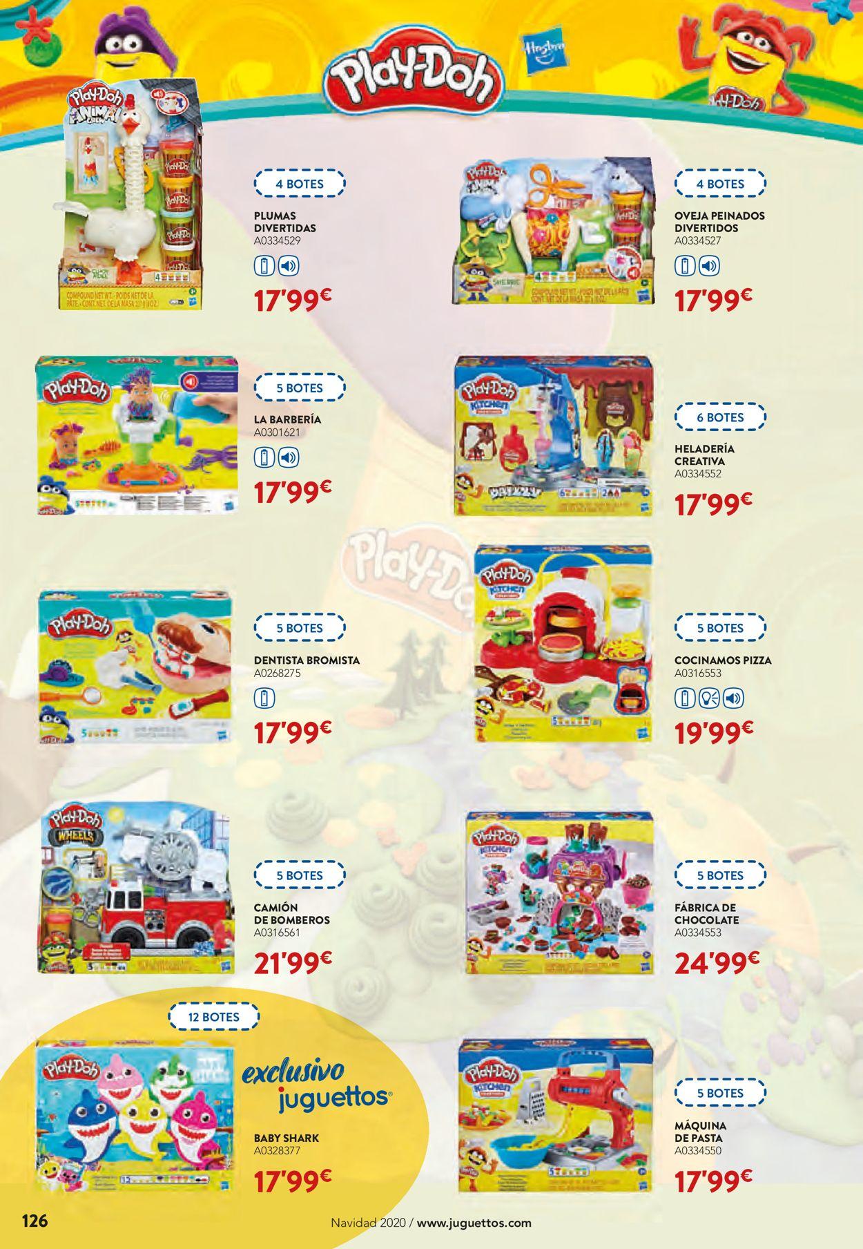 Juguettos Folleto - 02.11-24.12.2020 (Página 126)