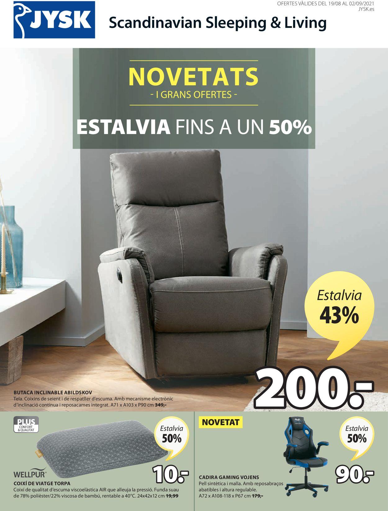 JYSK Folleto - 19.08-02.09.2021