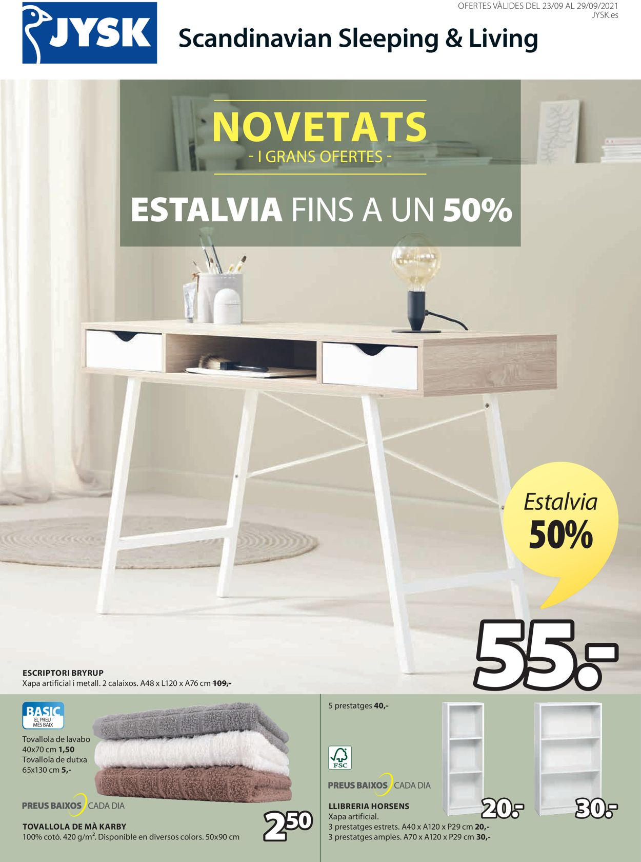 JYSK Folleto - 23.09-29.09.2021