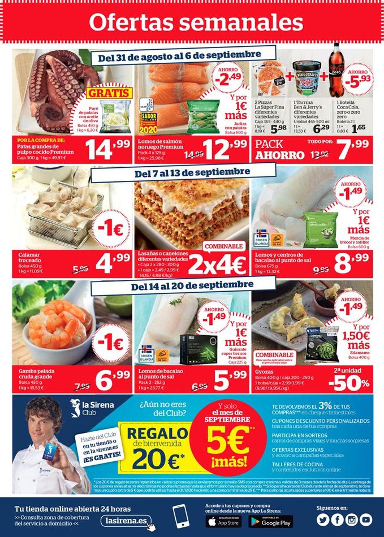 La Sirena Folleto - 03.09-23.09.2020 (Página 20)