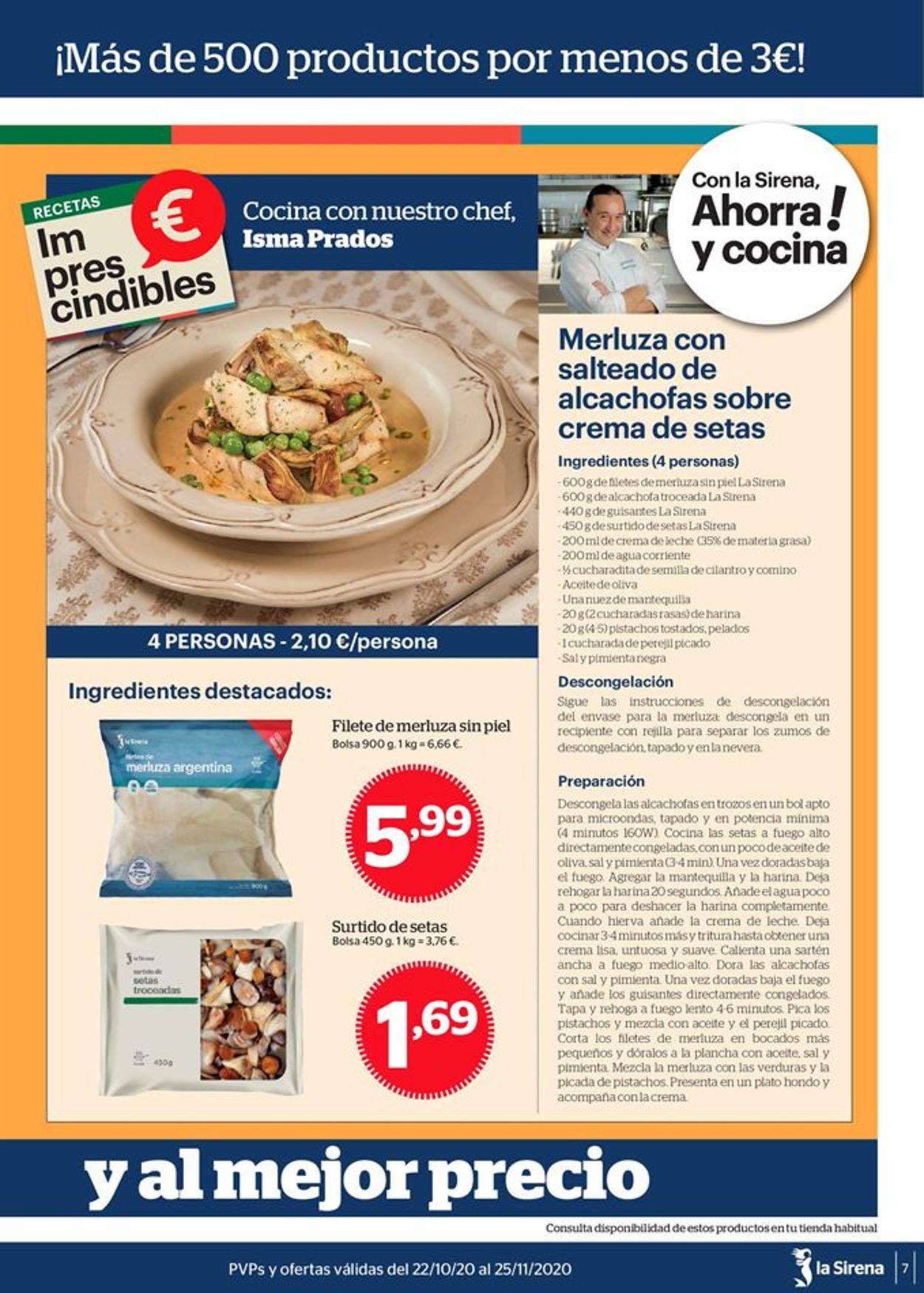 La Sirena Folleto - 22.10-25.11.2020 (Página 7)