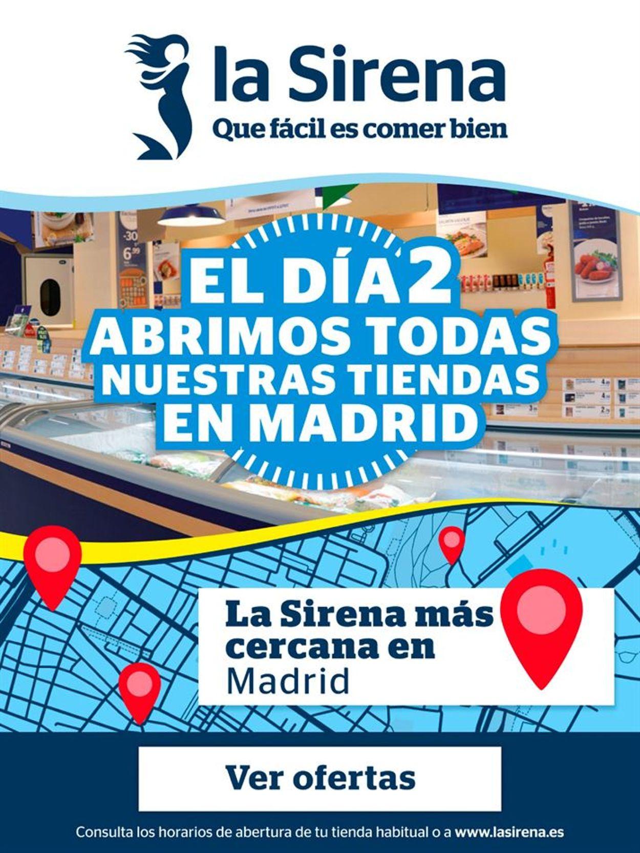 La Sirena Folleto - 31.10-02.11.2020
