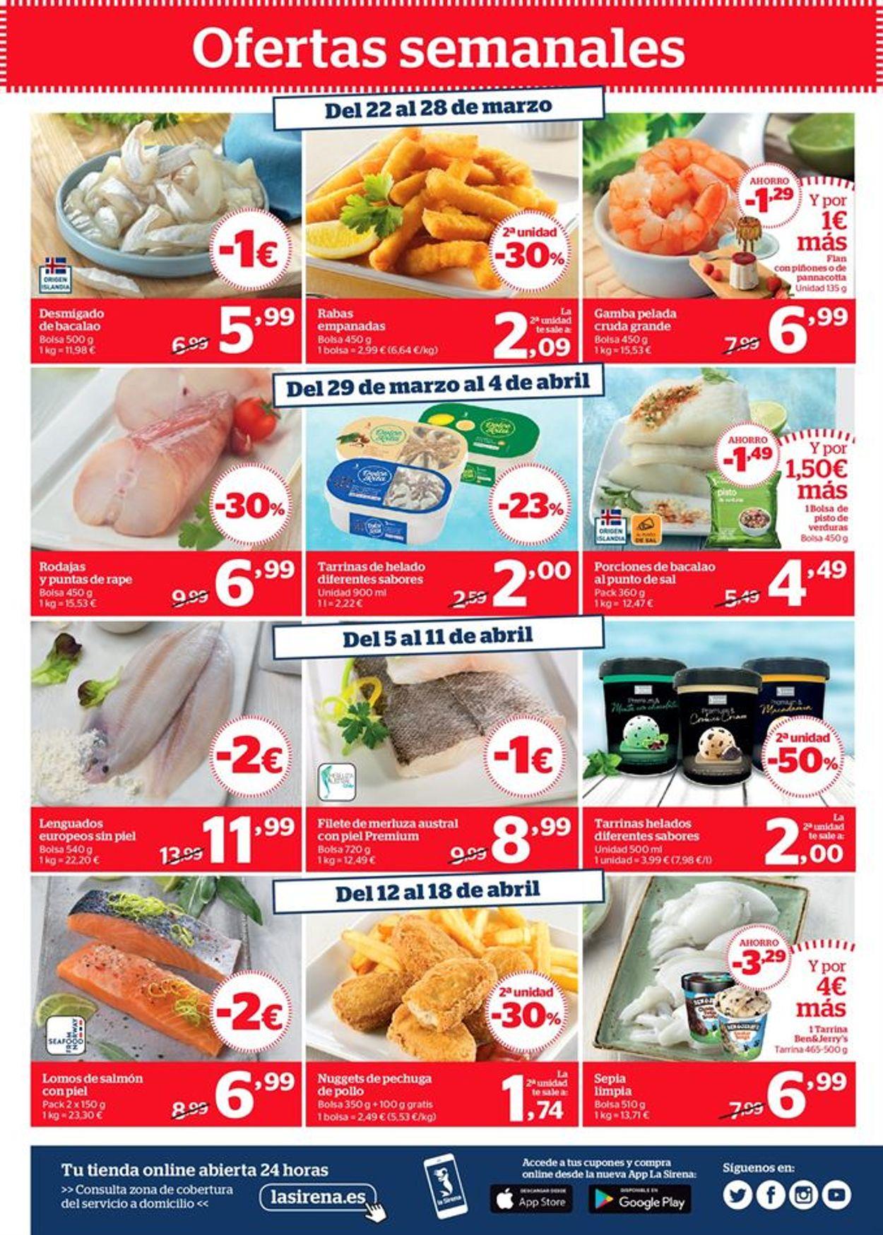 La Sirena Fish days Folleto - 25.03-21.04.2021 (Página 19)