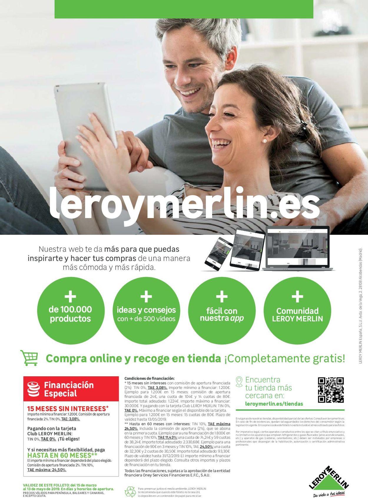 Leroy Merlin Folleto - 15.03-13.05.2019 (Página 120)