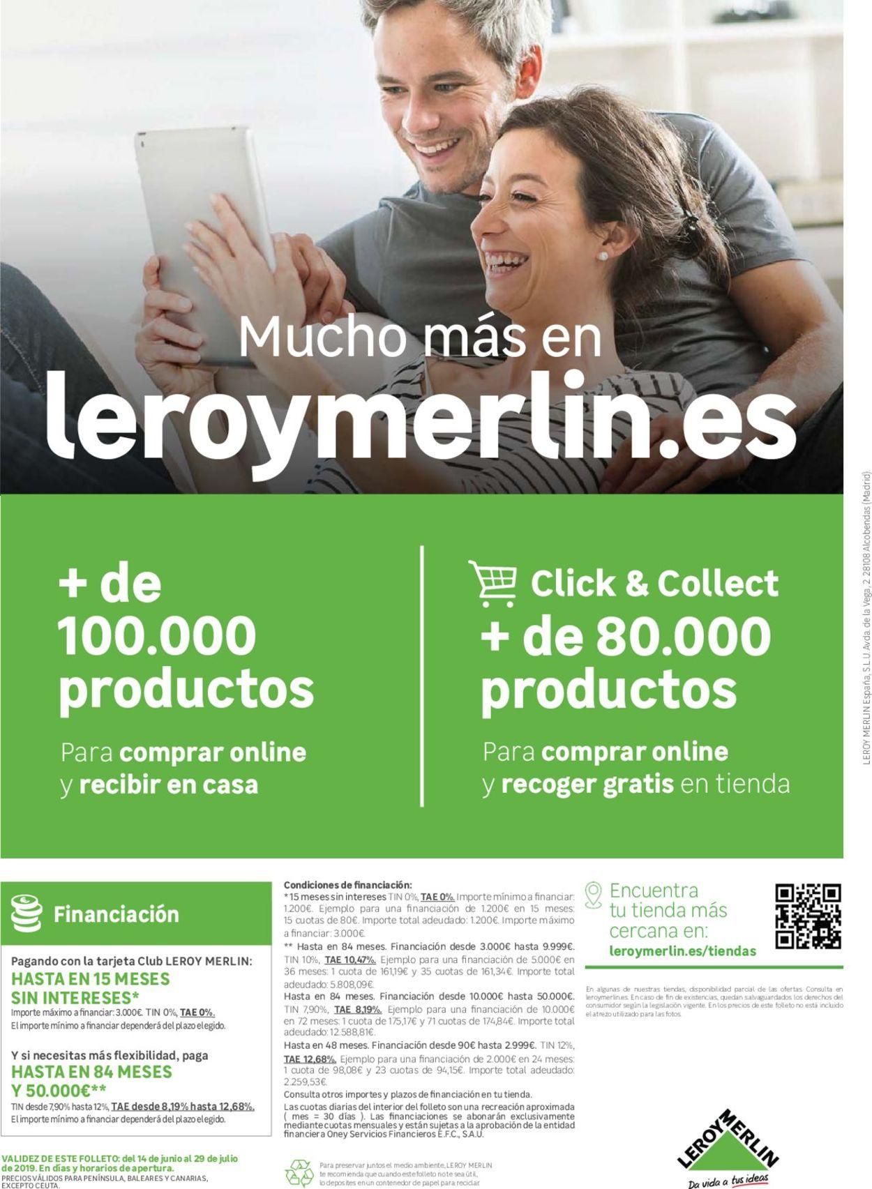 Leroy Merlin Folleto - 14.06-29.07.2019 (Página 32)