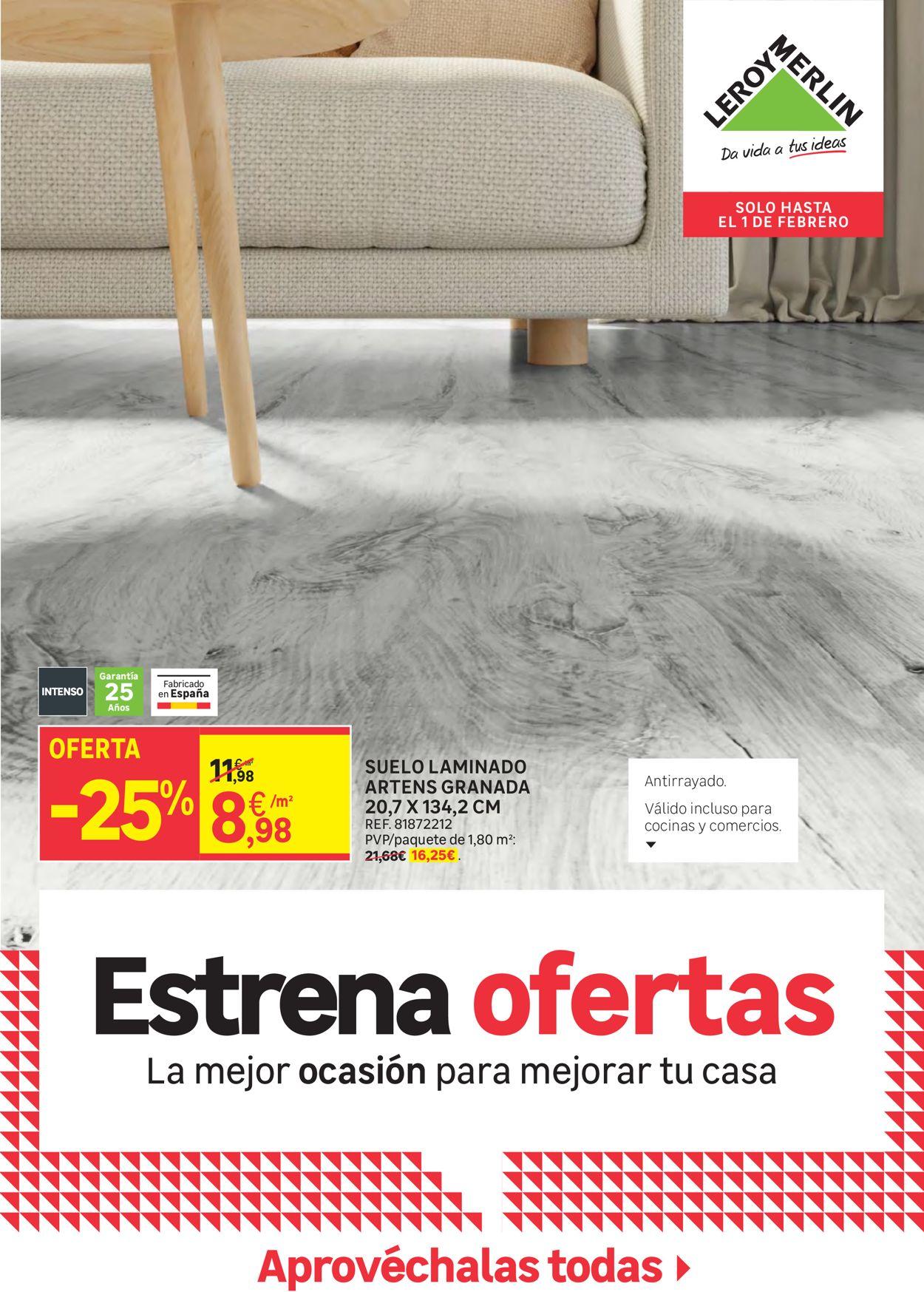 Leroy Merlin Estrena Ofertas 2021 Folleto - 08.01-01.02.2021