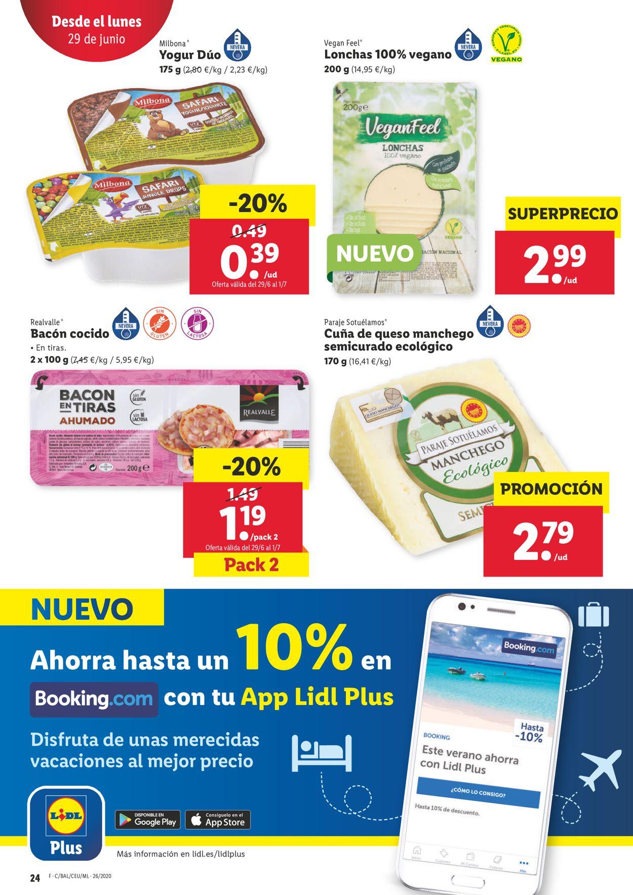 Lidl Folleto - 25.06-01.07.2020 (Página 24)