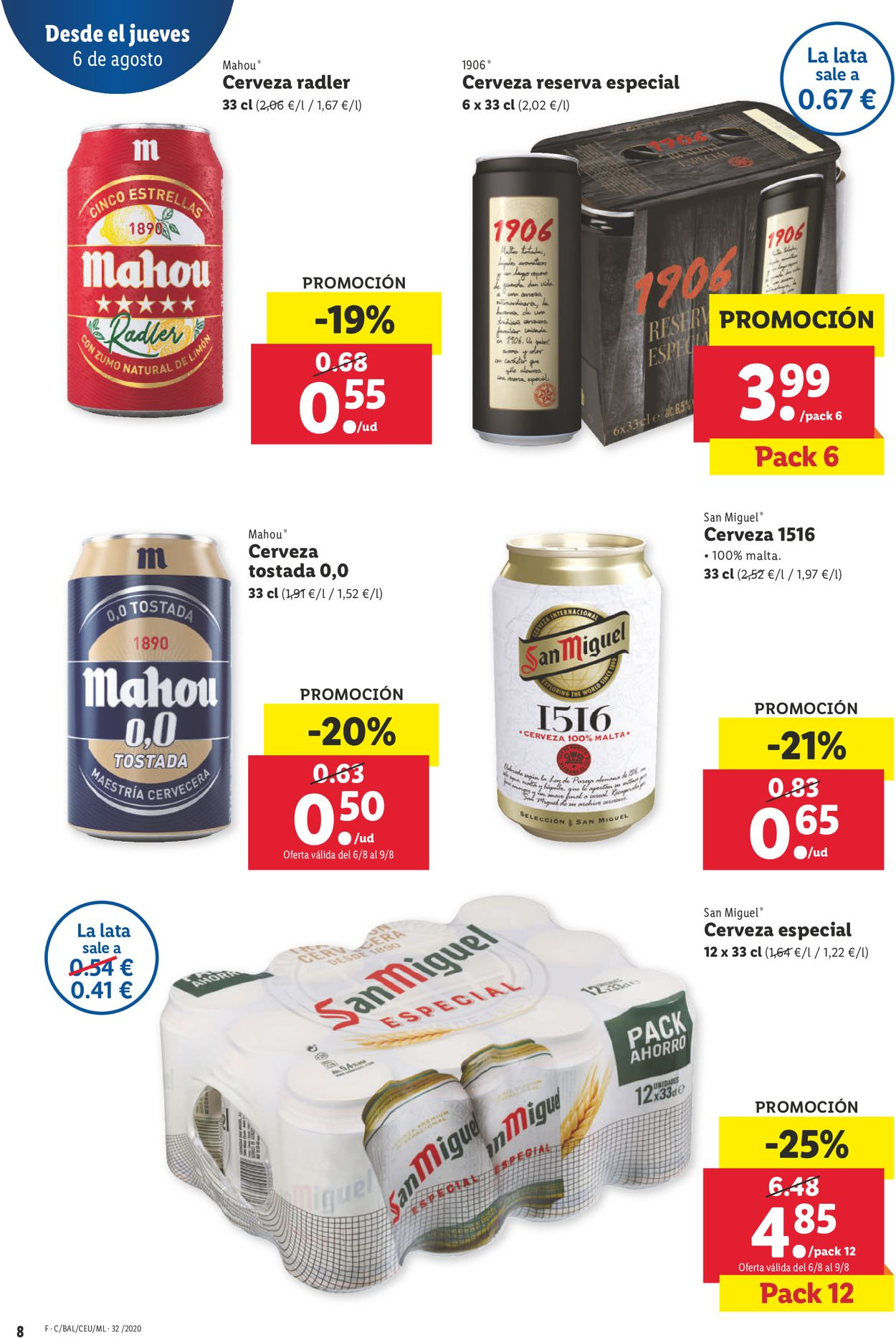 Lidl Folleto - 06.08-12.08.2020 (Página 8)
