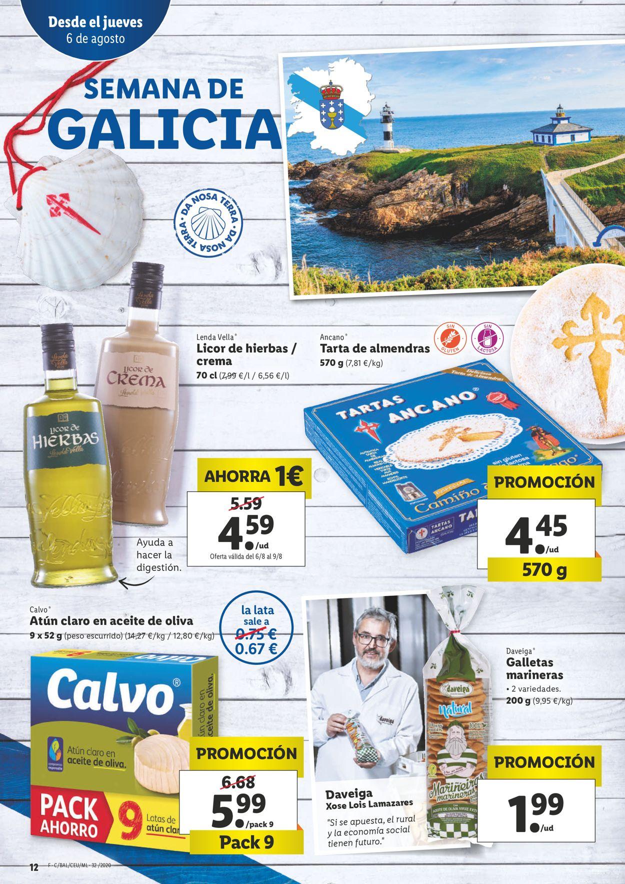 Lidl Folleto - 06.08-12.08.2020 (Página 12)