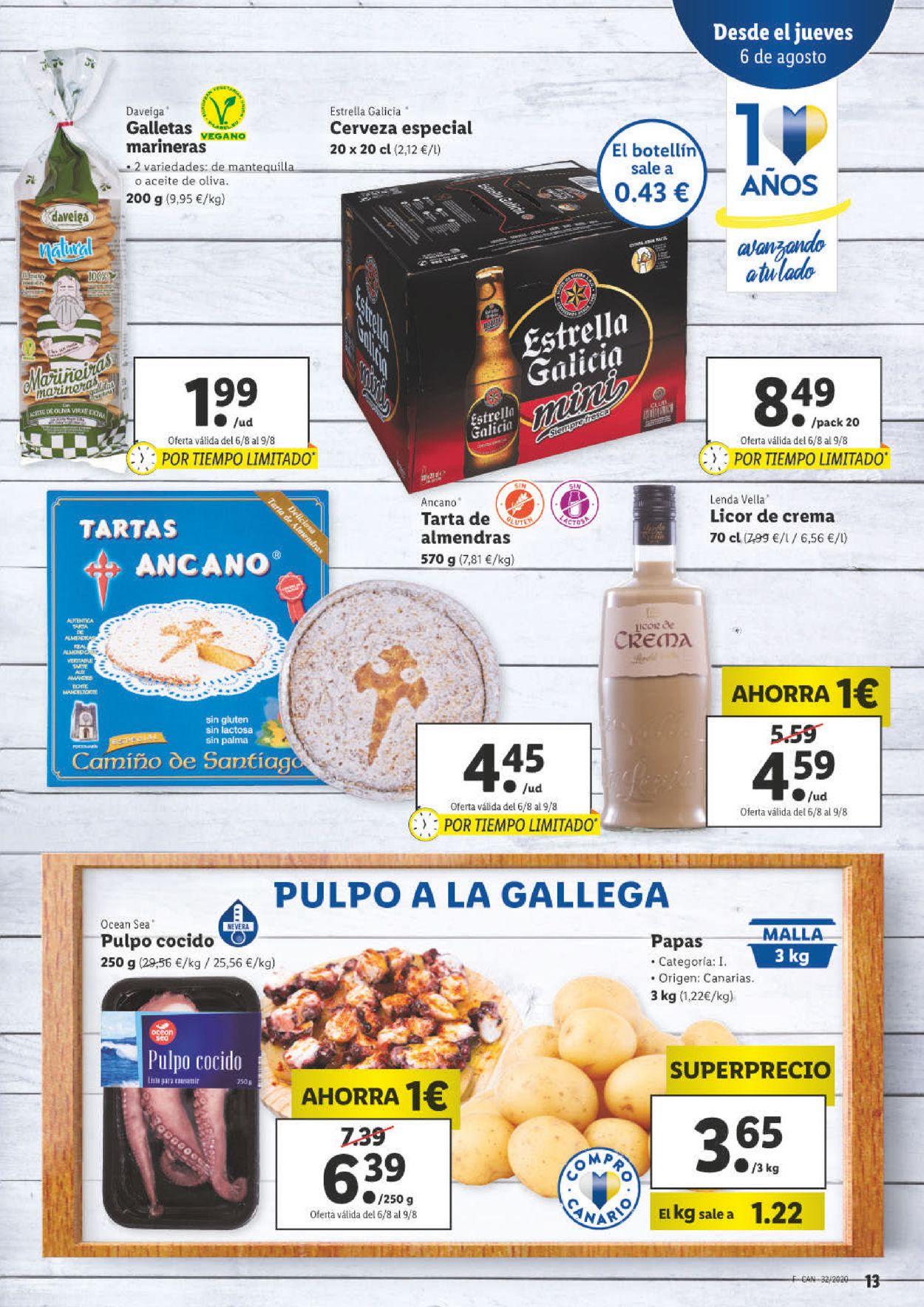 Lidl Folleto - 06.08-12.08.2020 (Página 13)
