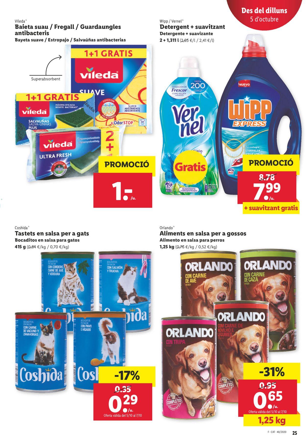 Lidl Folleto - 01.10-07.10.2020 (Página 25)