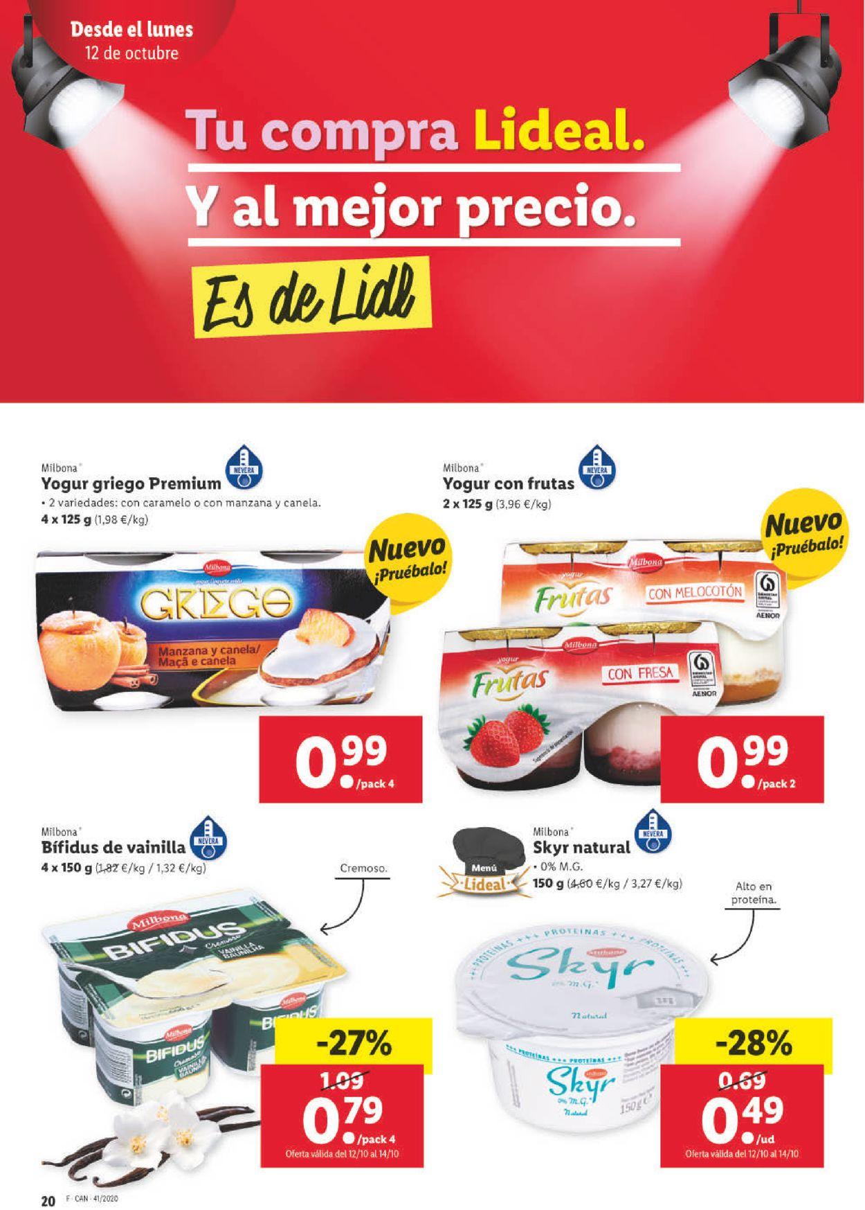 Lidl Folleto - 08.10-14.10.2020 (Página 20)