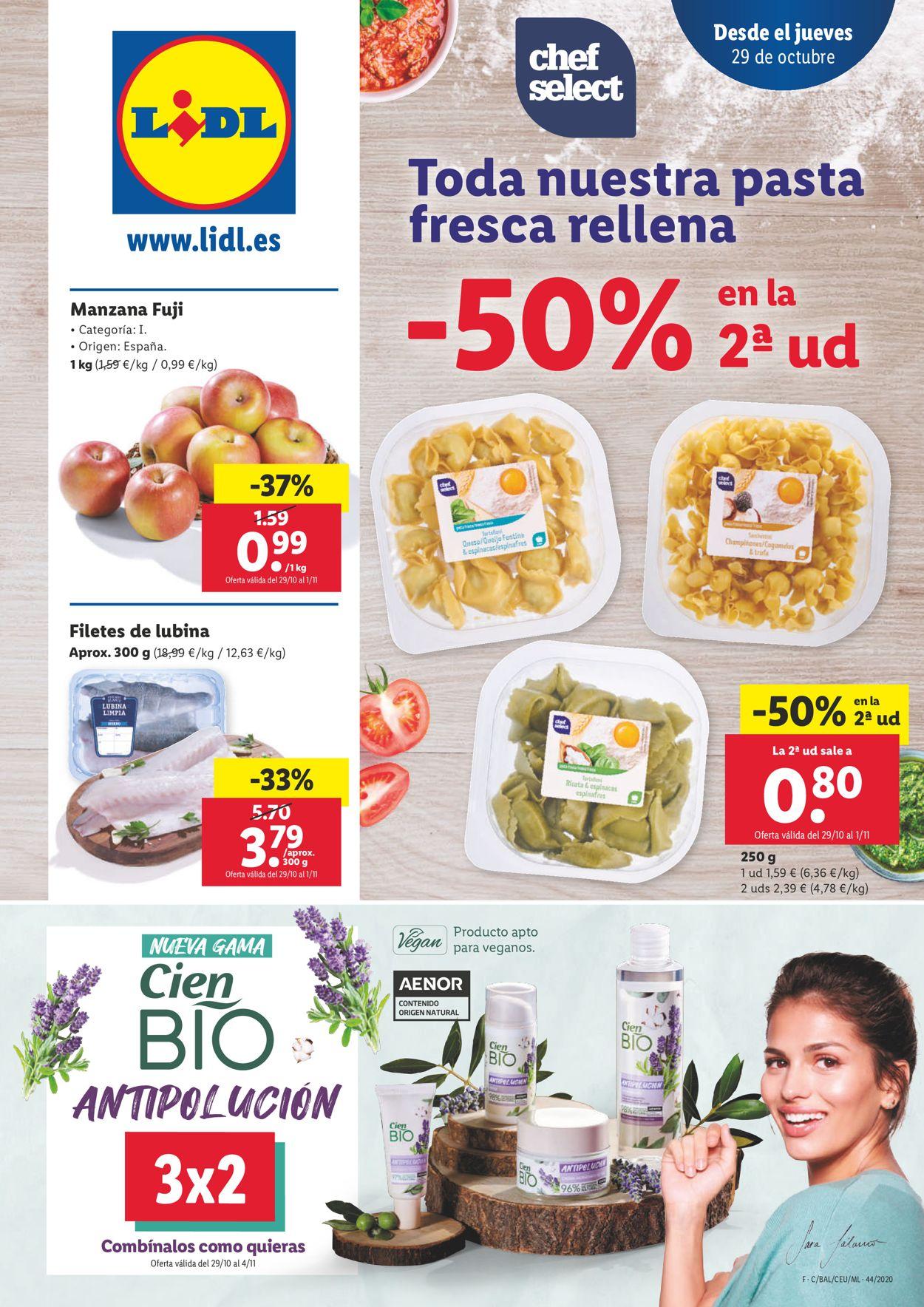 Lidl Folleto - 29.10-04.11.2020