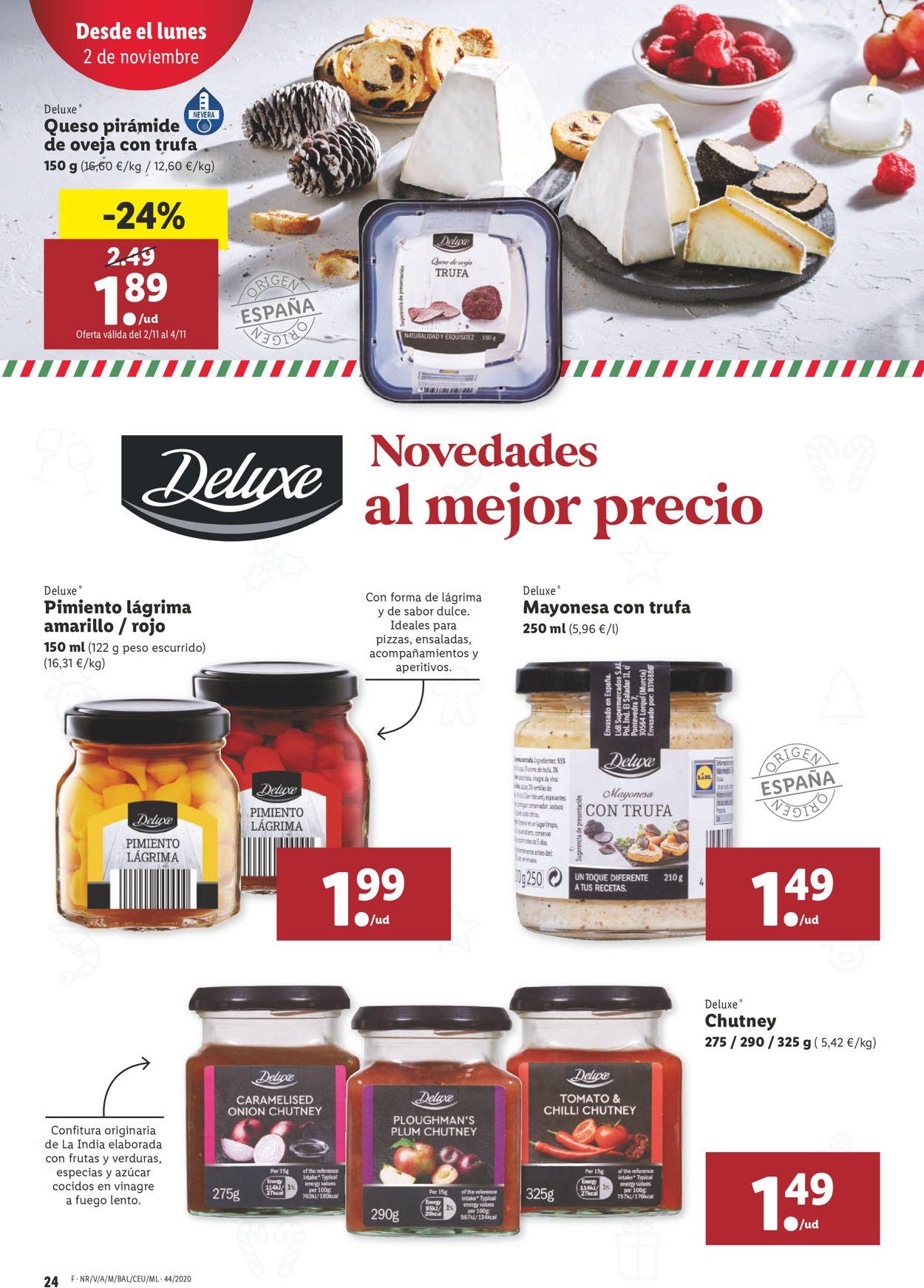 Lidl Folleto - 29.10-04.11.2020 (Página 24)