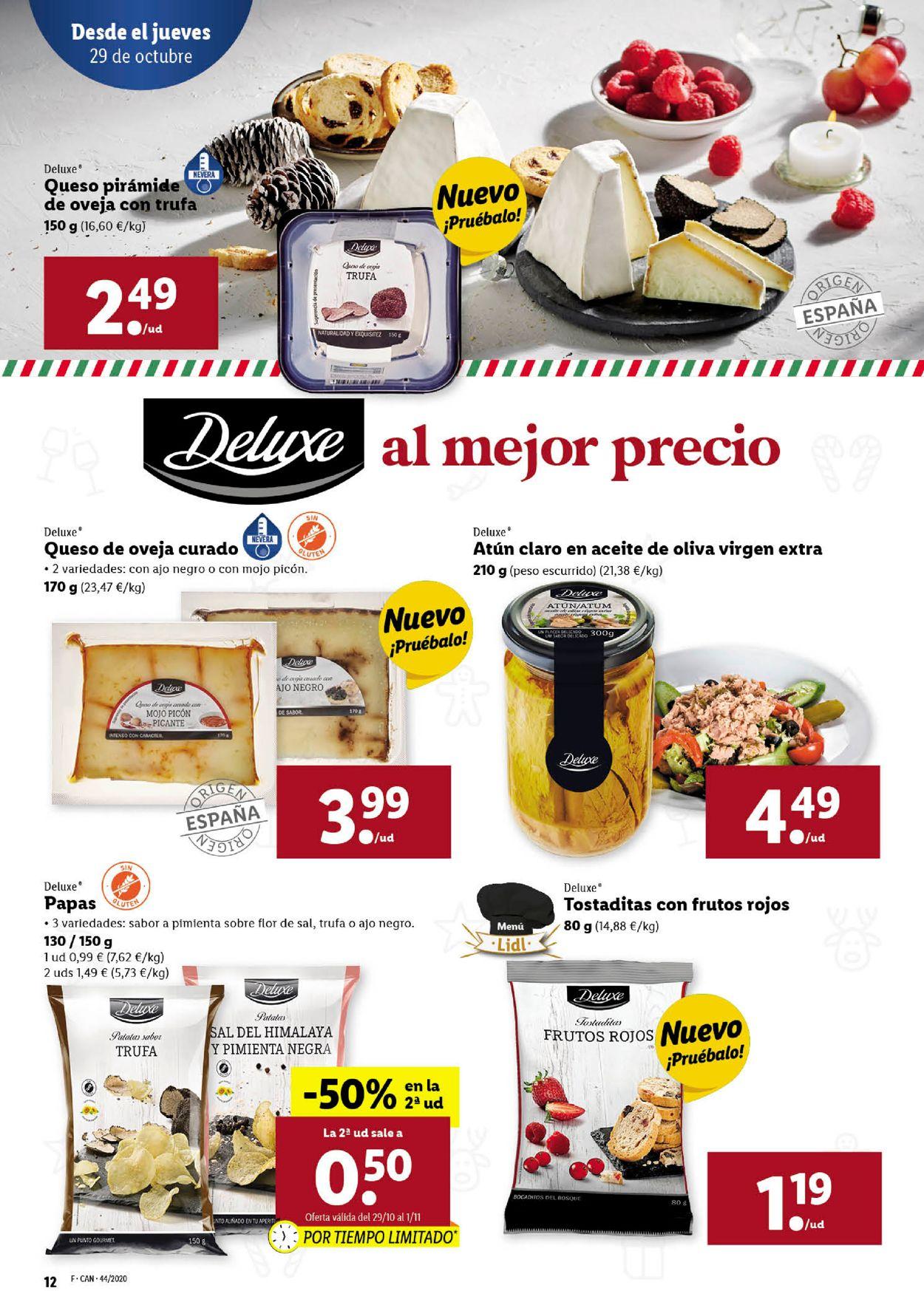 Lidl Folleto - 29.10-04.11.2020 (Página 12)