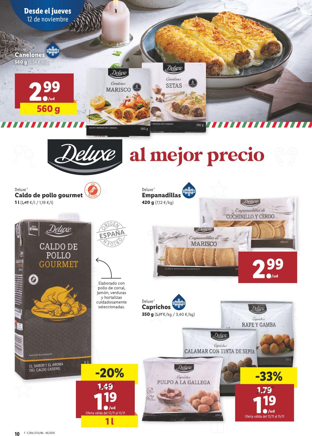 Lidl Folleto - 12.11-18.11.2020 (Página 10)