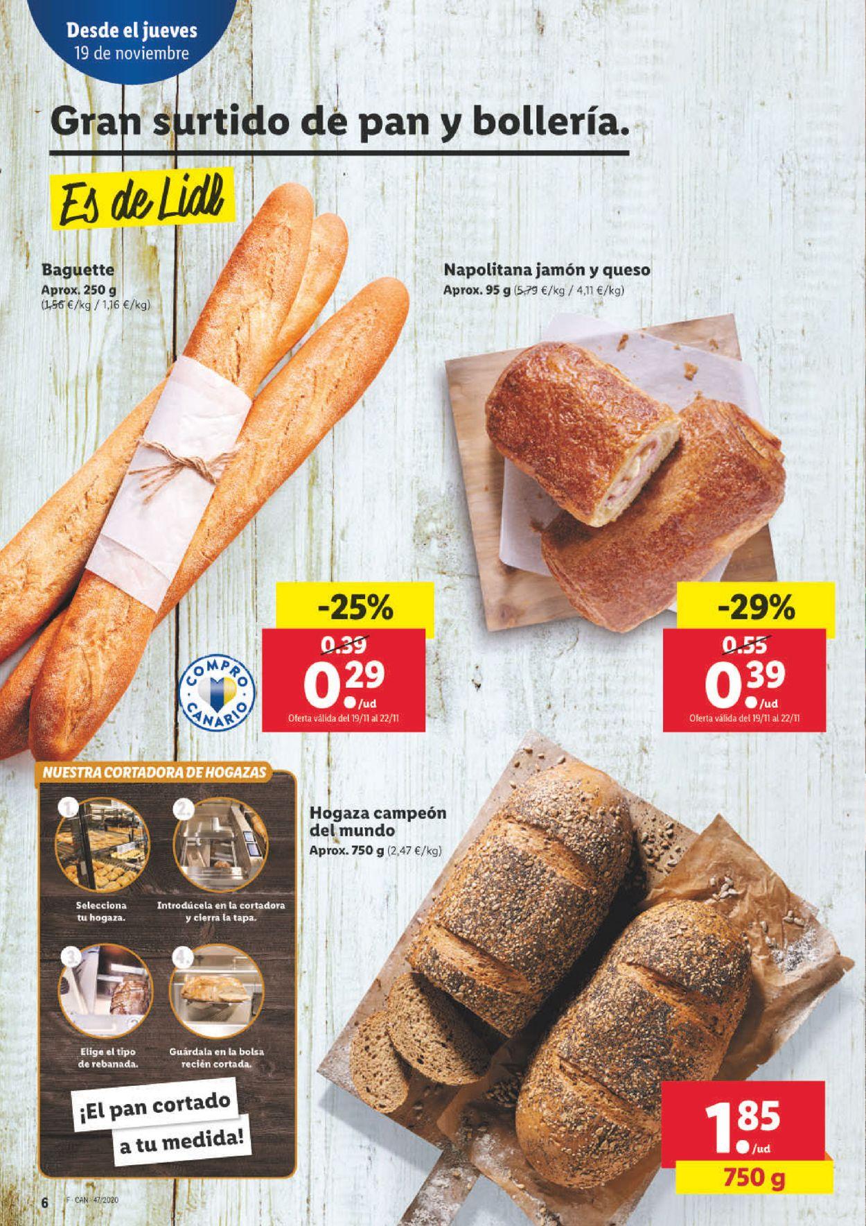 Lidl Folleto - 19.11-25.11.2020 (Página 6)