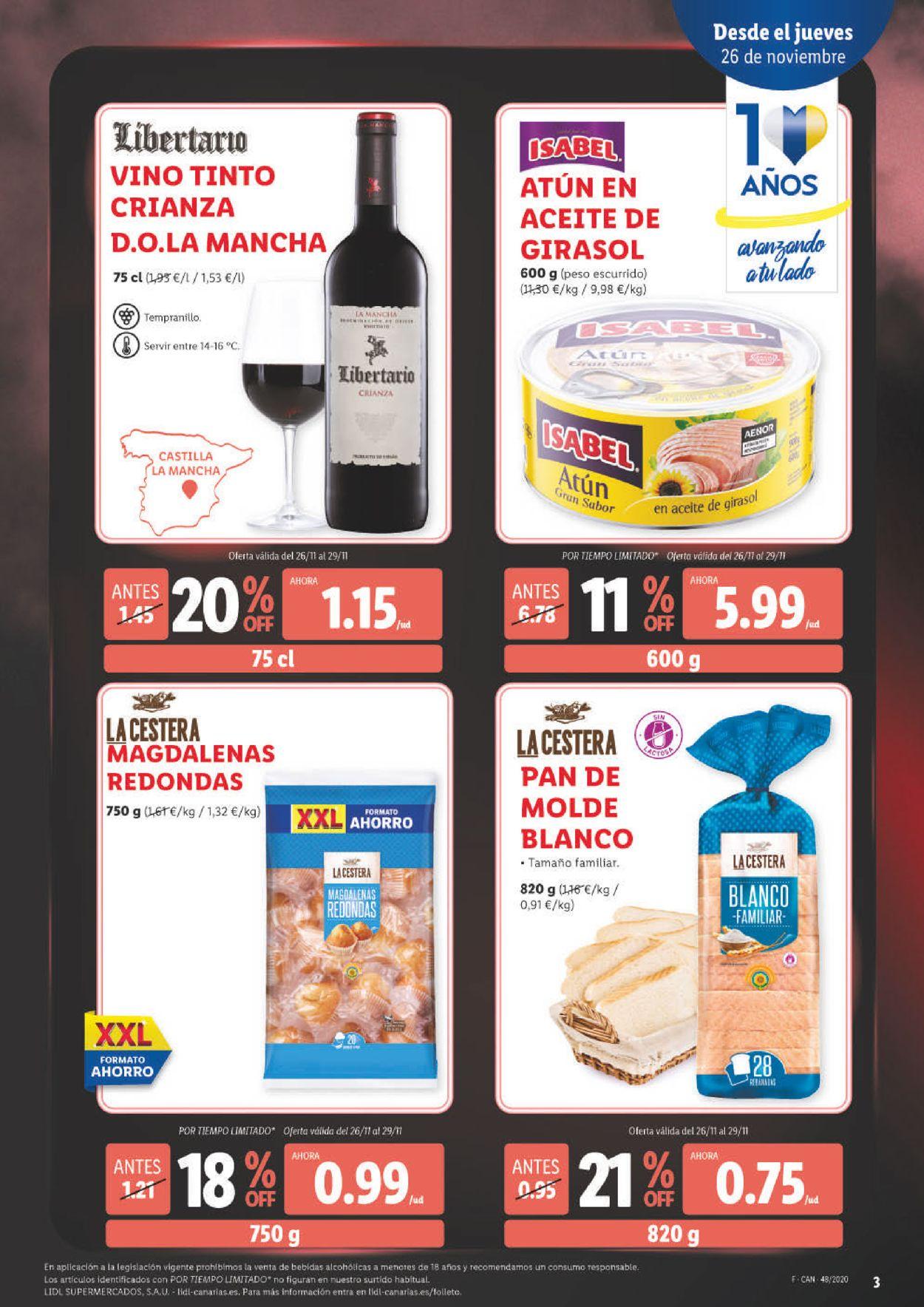 Lidl - Black Friday 2020 Folleto - 26.11-02.12.2020 (Página 3)