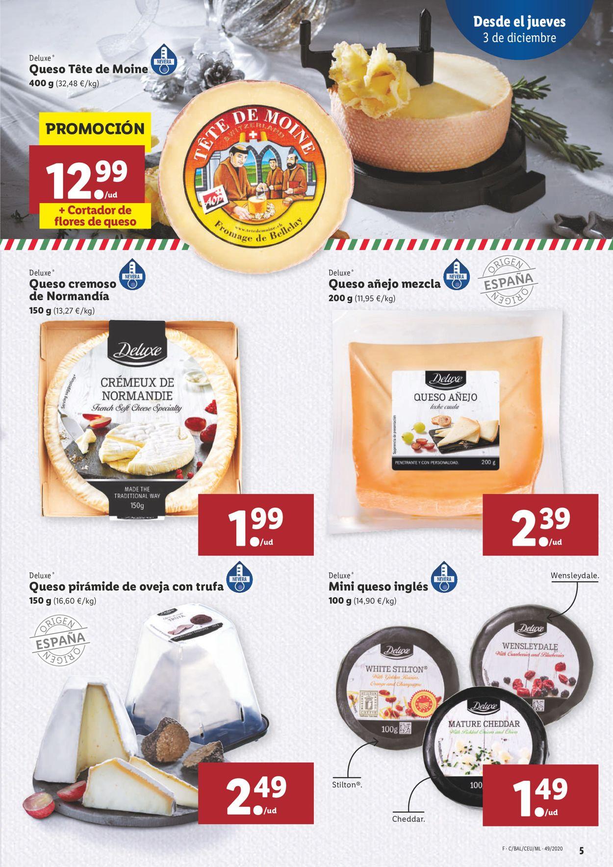 Lidl Navidad 2020 Folleto - 03.12-09.12.2020 (Página 5)