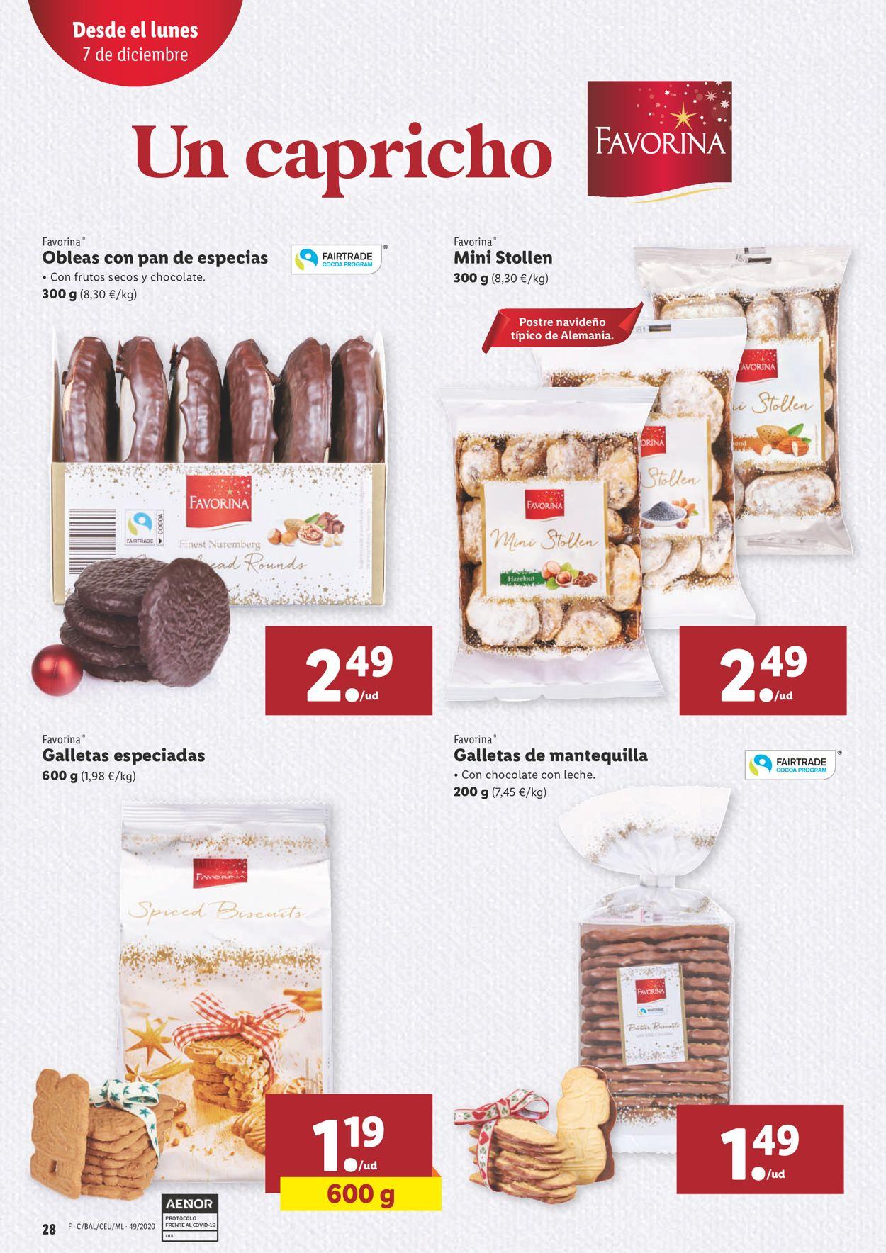 Lidl Navidad 2020 Folleto - 03.12-09.12.2020 (Página 28)