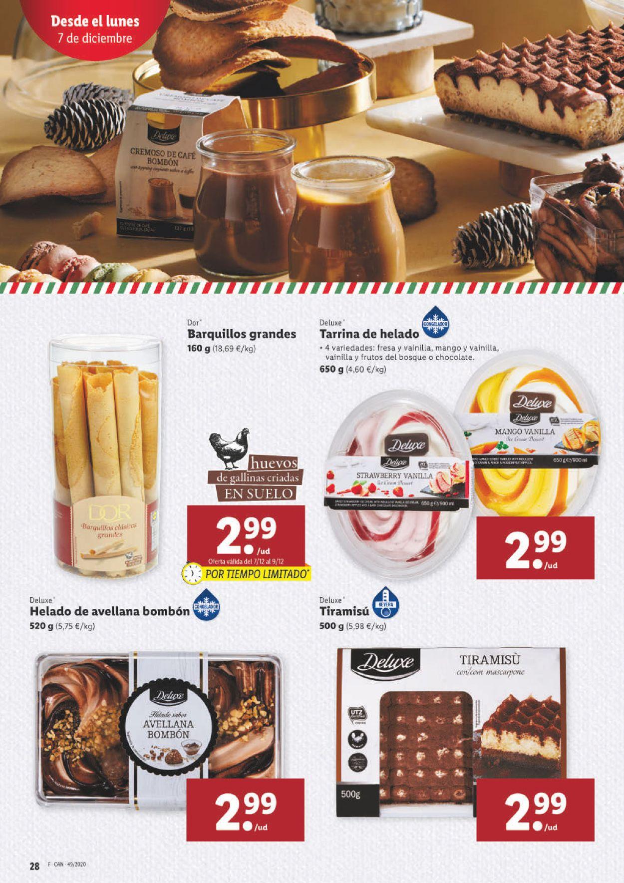 Lidl Folleto - 03.12-09.12.2020 (Página 28)