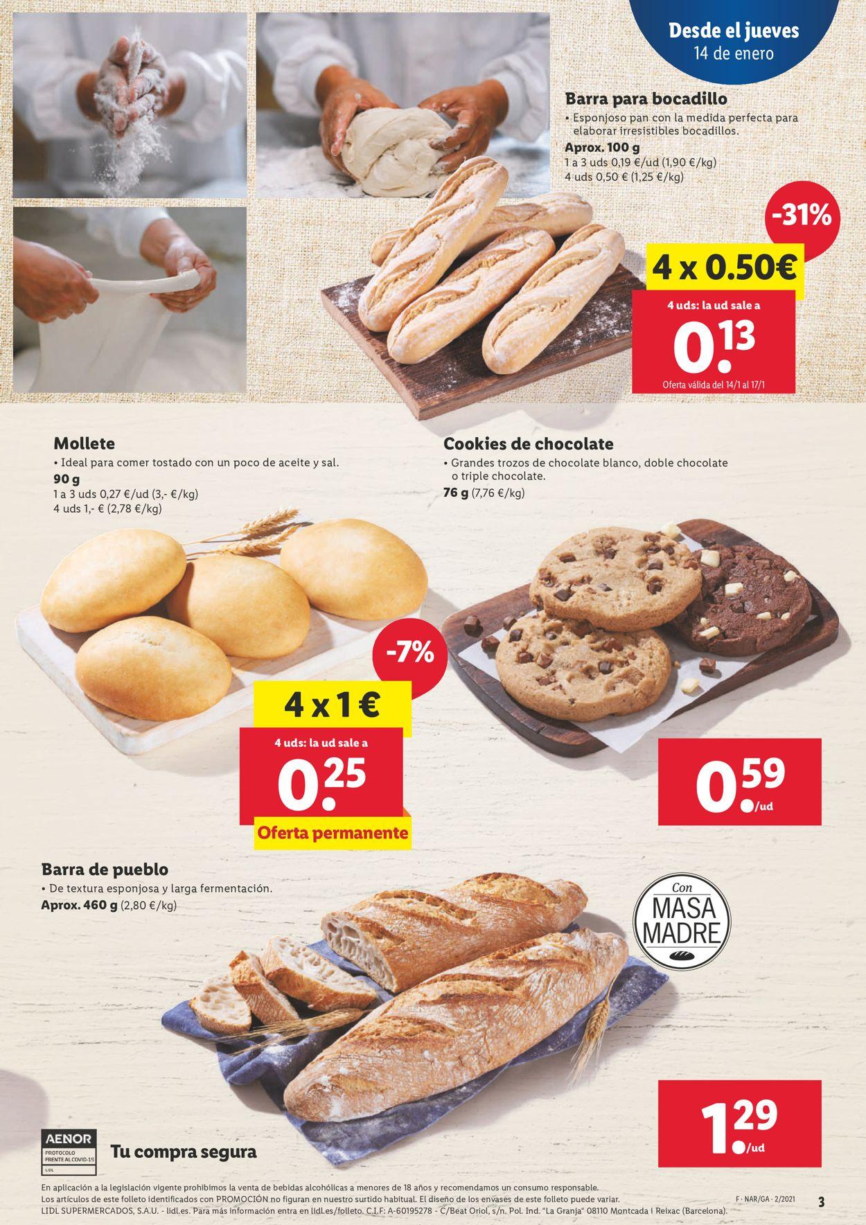 Lidl Folleto - 14.01-20.01.2021 (Página 3)
