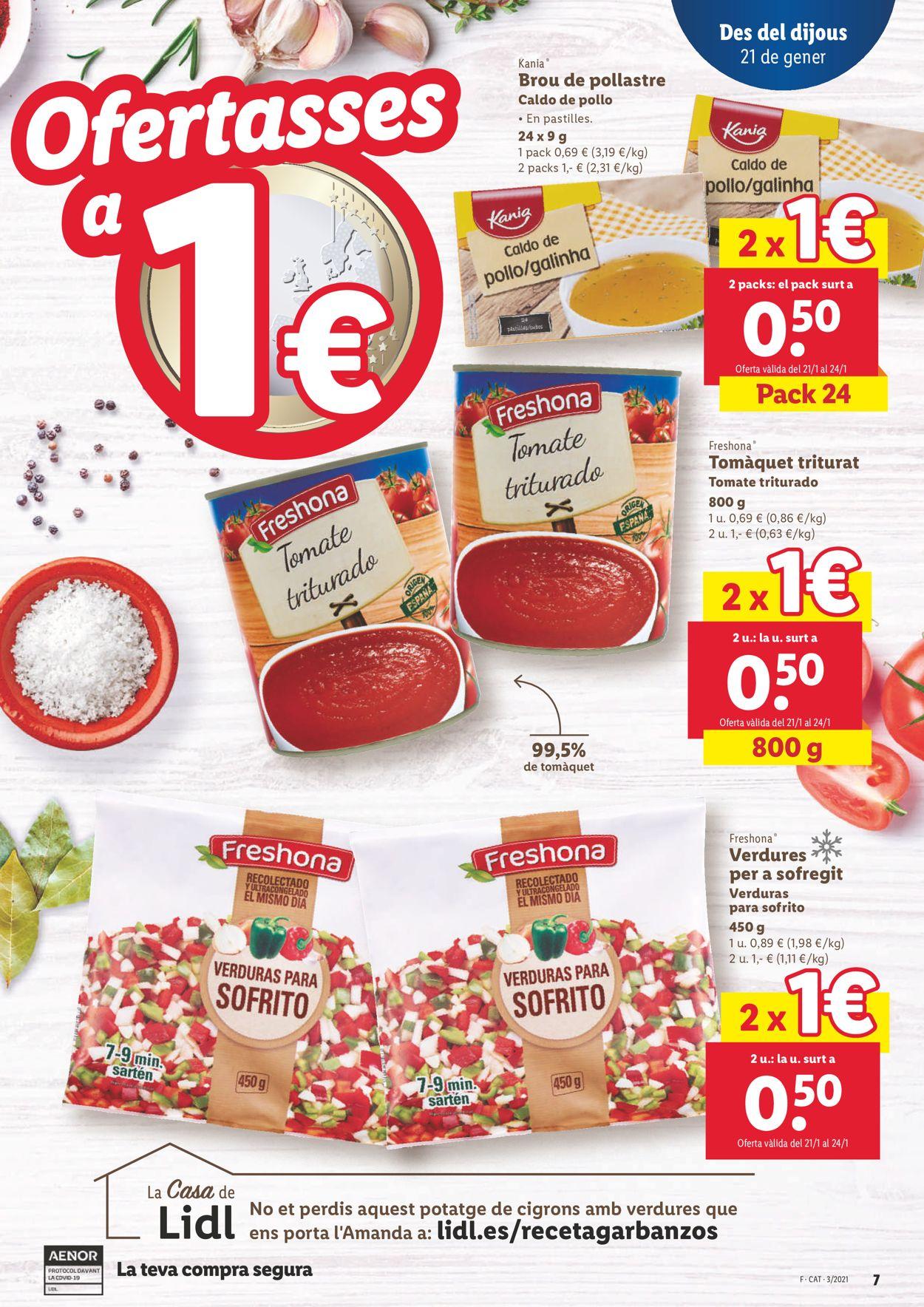 Lidl Ofertasses a 1€ Folleto - 21.01-27.01.2021 (Página 7)