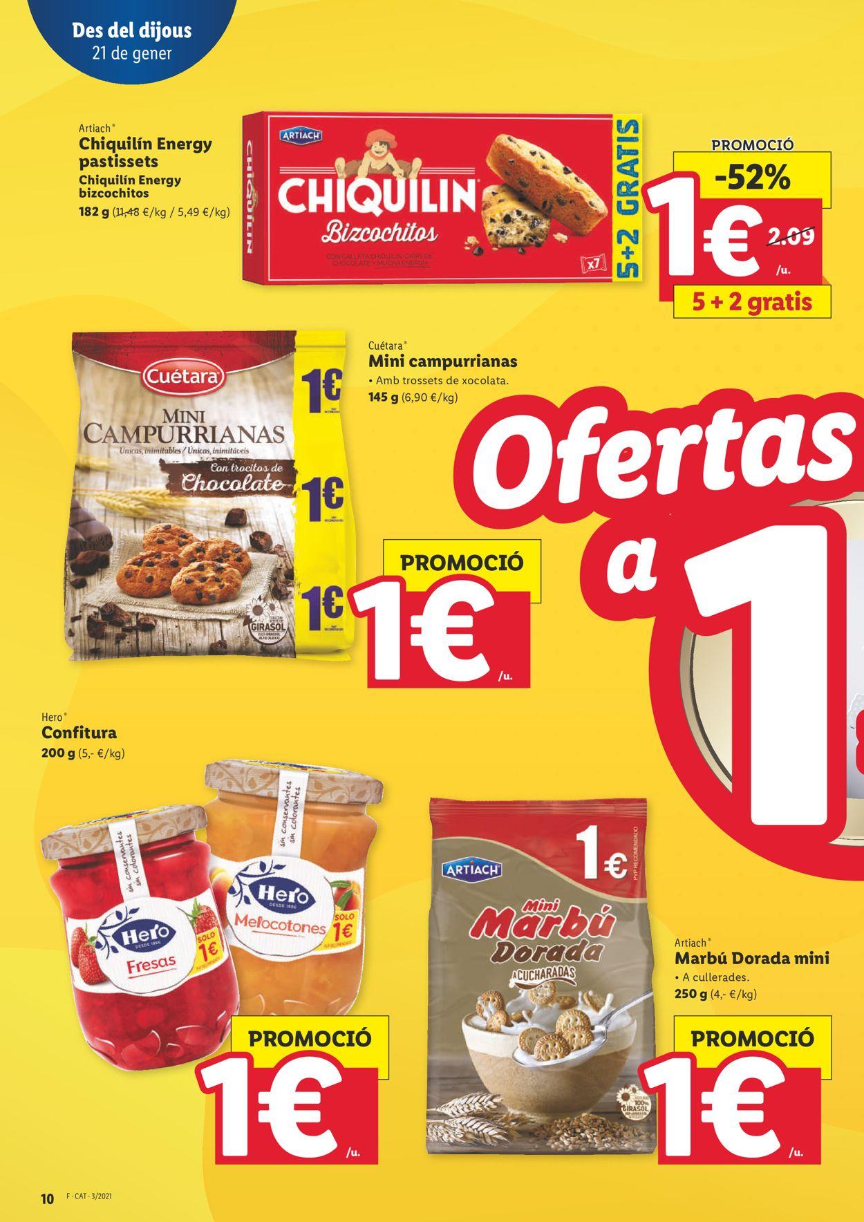 Lidl Ofertasses a 1€ Folleto - 21.01-27.01.2021 (Página 10)