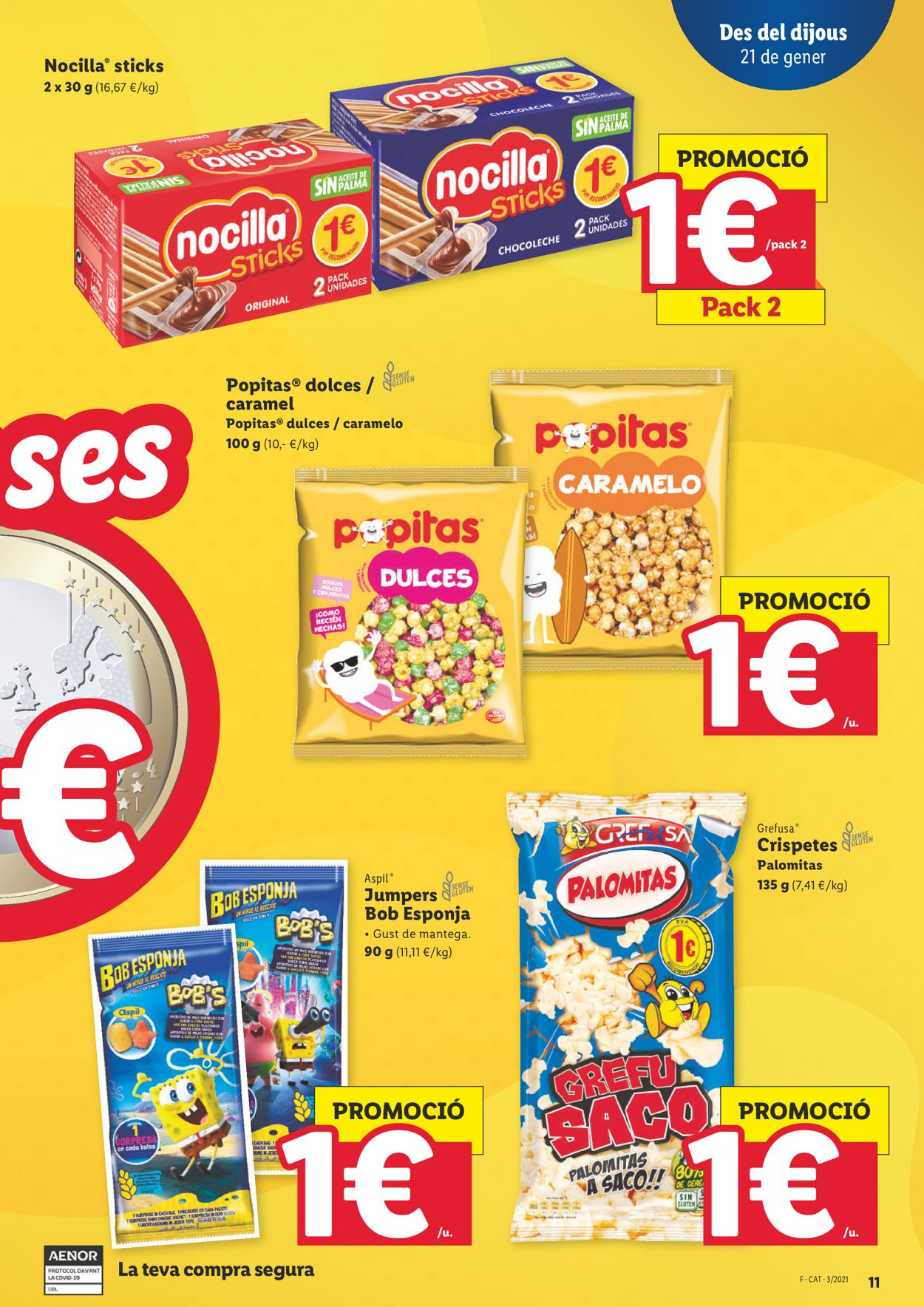 Lidl Ofertasses a 1€ Folleto - 21.01-27.01.2021 (Página 11)
