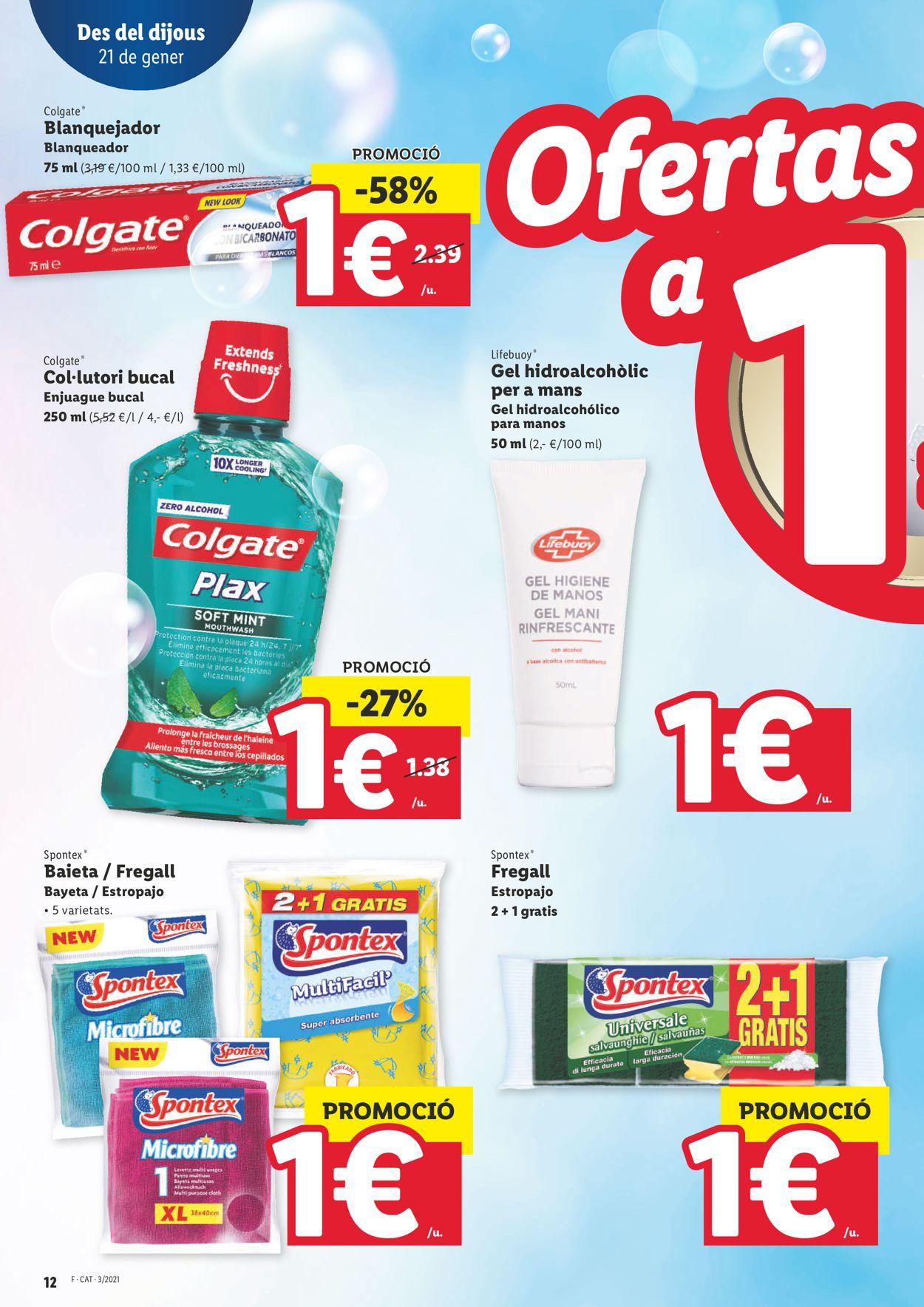 Lidl Ofertasses a 1€ Folleto - 21.01-27.01.2021 (Página 12)