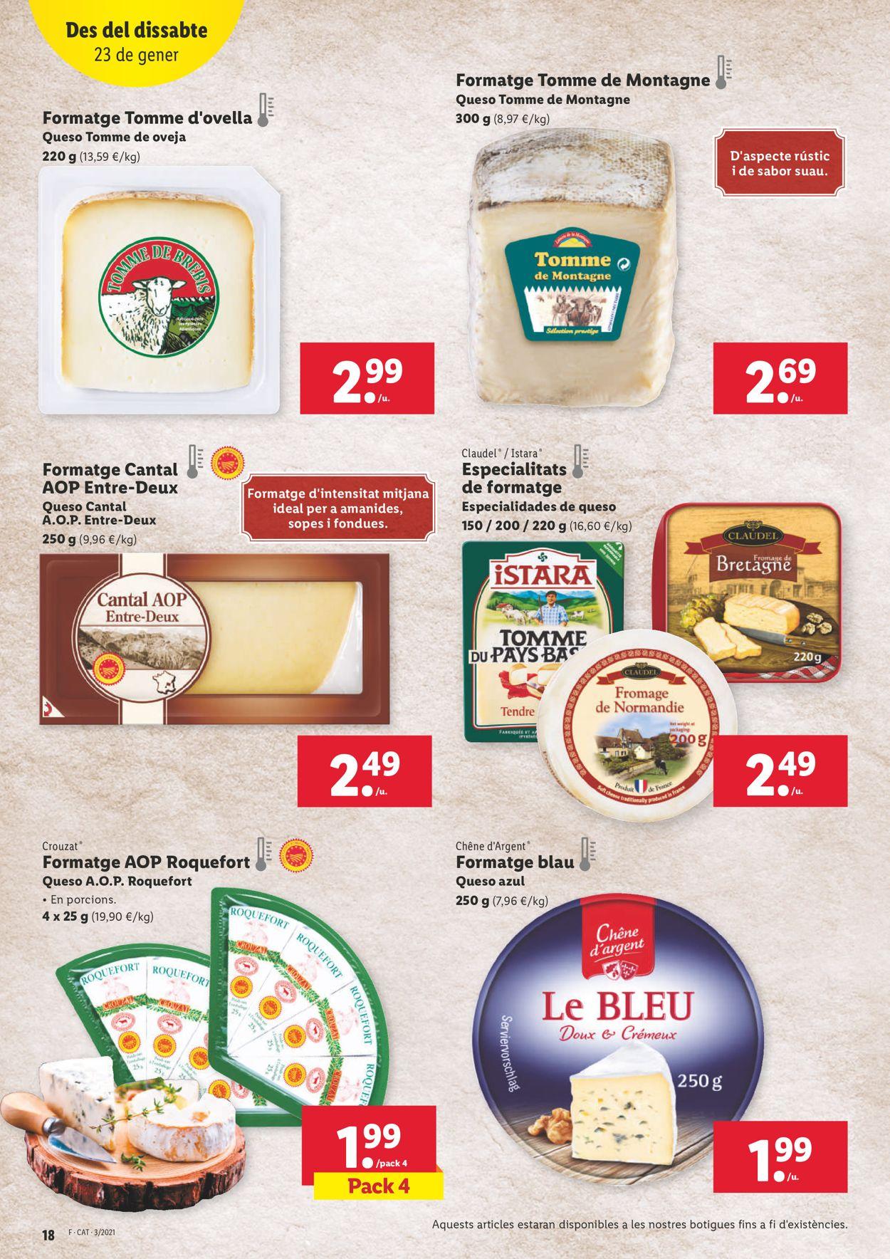 Lidl Ofertasses a 1€ Folleto - 21.01-27.01.2021 (Página 18)
